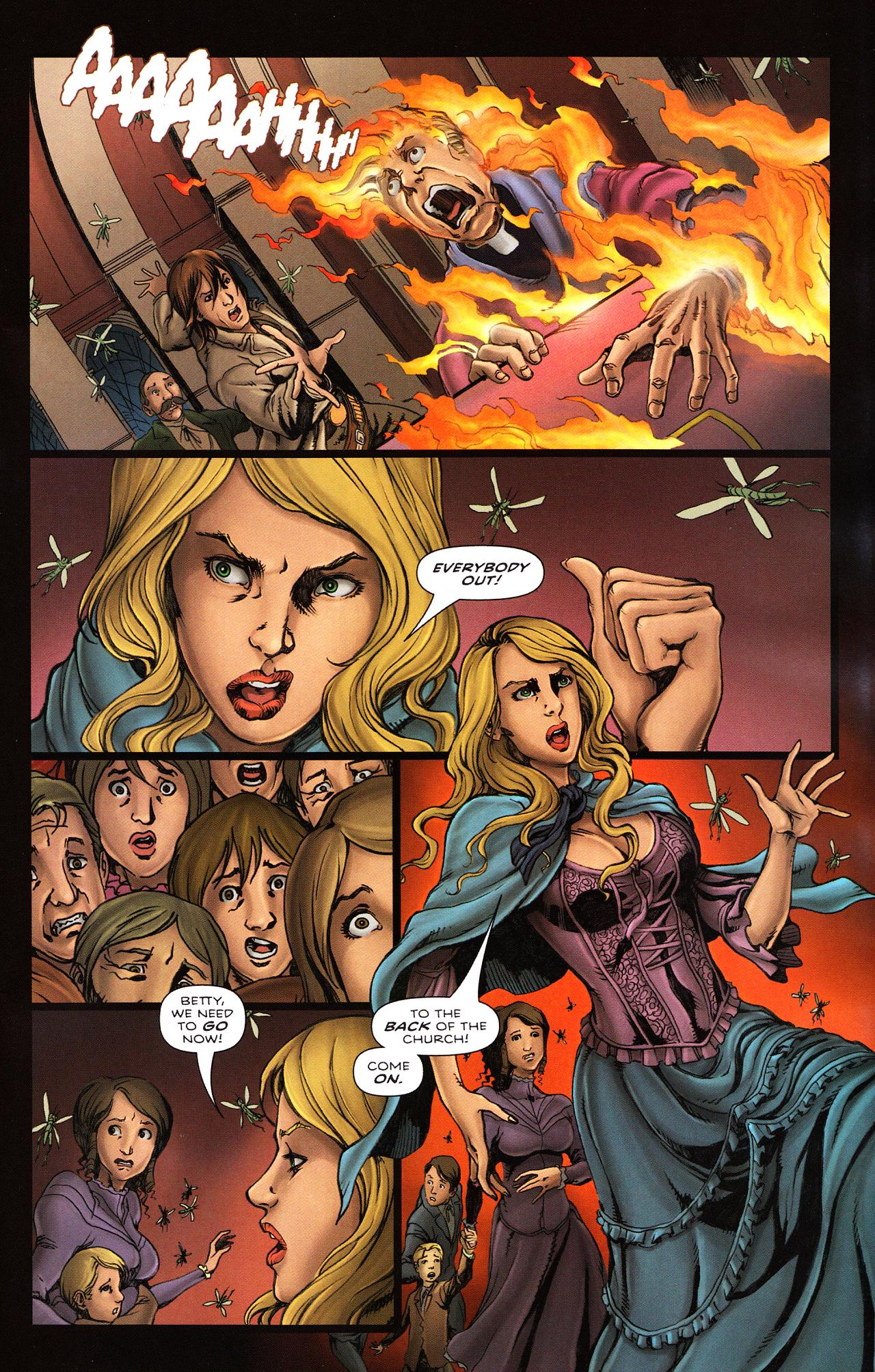 Read online Salem's Daughter: The Haunting comic -  Issue #2 - 22