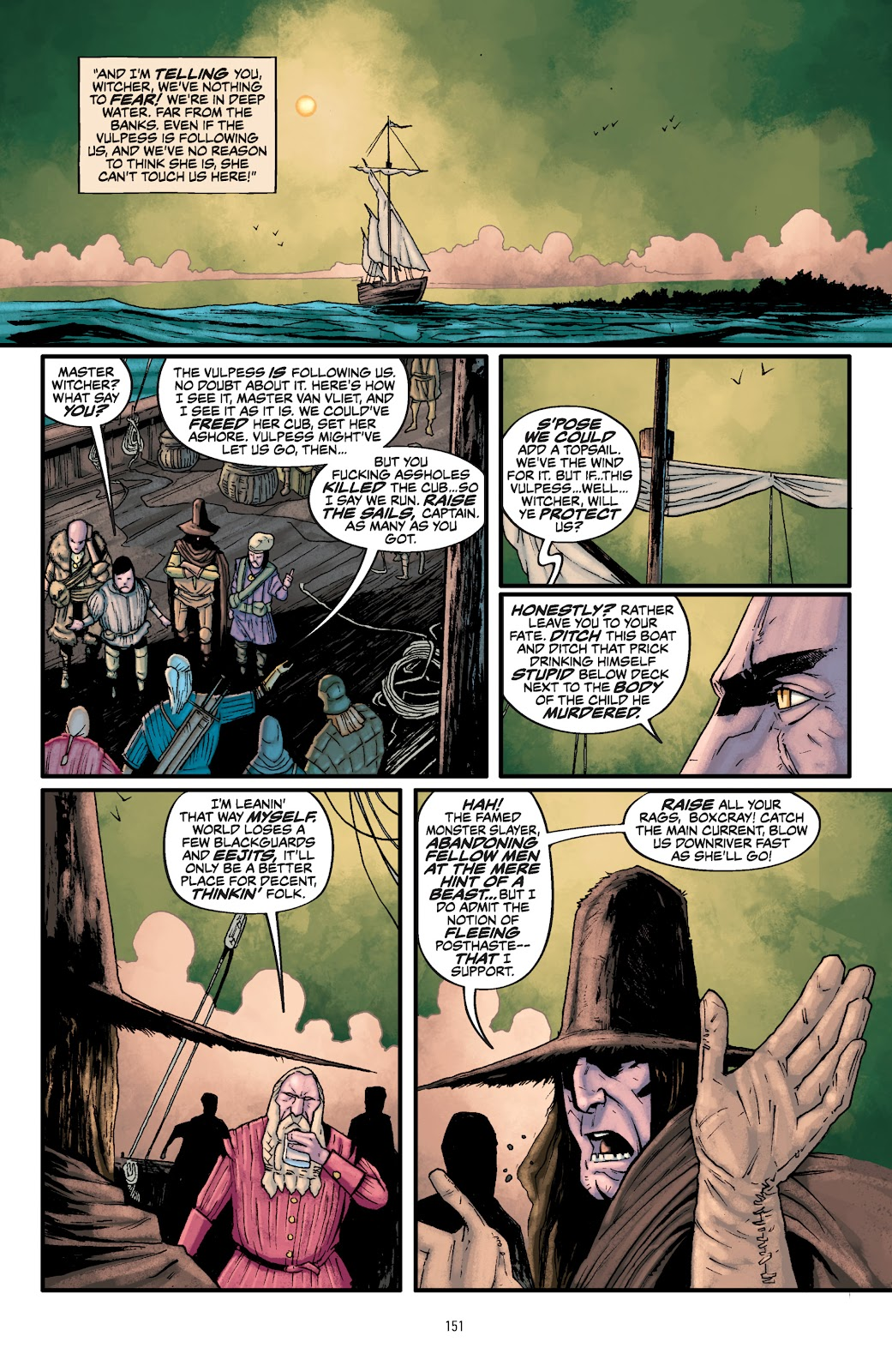 Read online The Witcher Omnibus comic -  Issue # TPB (Part 2) - 52