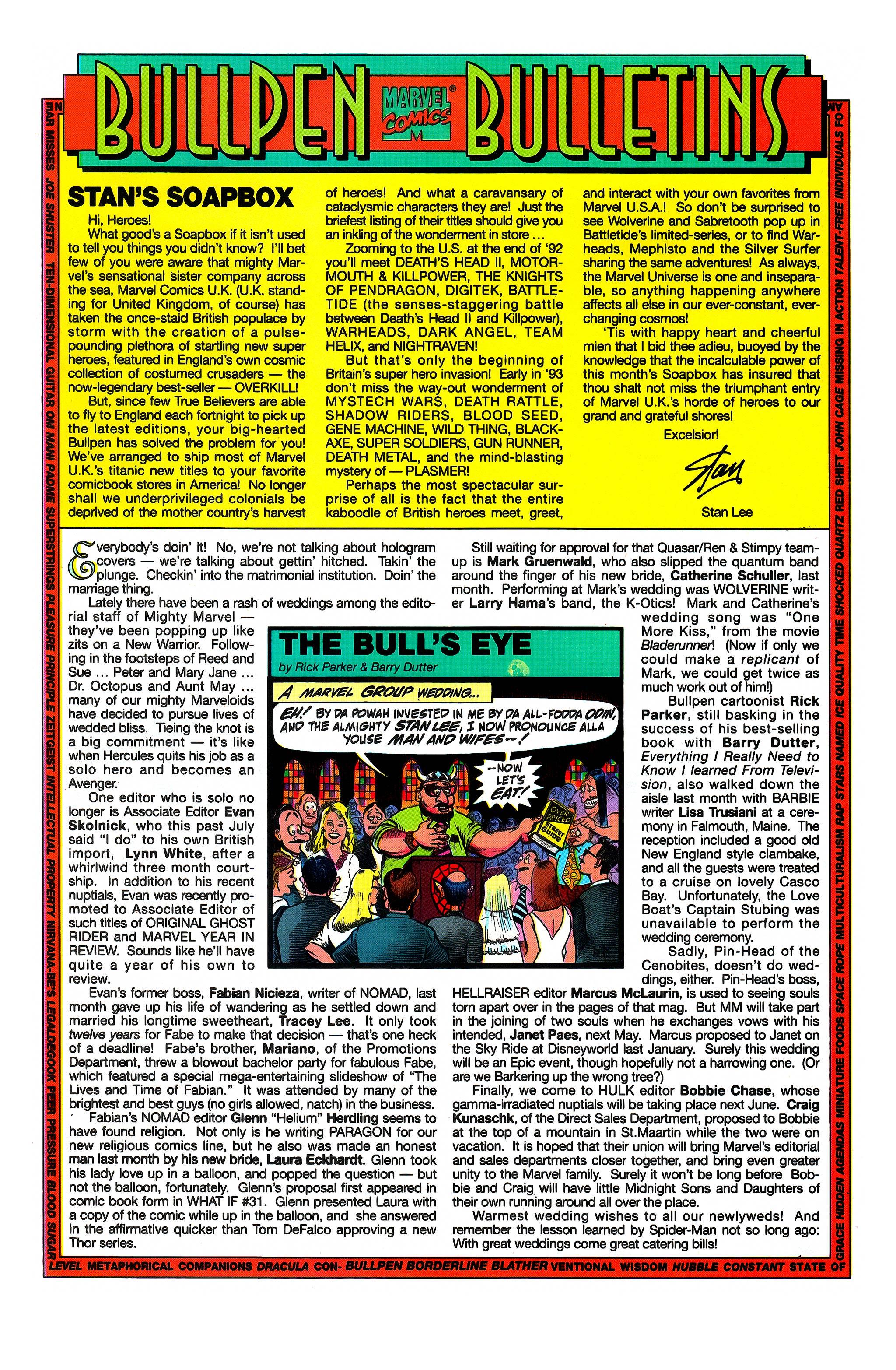Read online Uncanny X-Men (1963) comic -  Issue #296 - 20