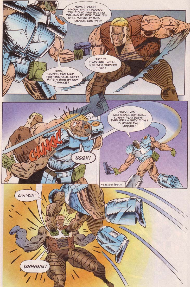 Read online Cyberspace 3000 comic -  Issue #7 - 13