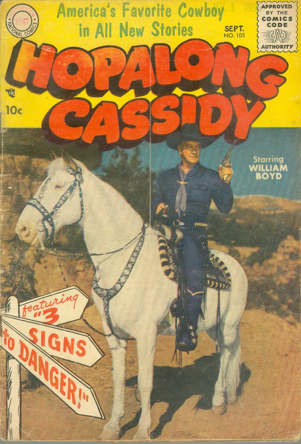 Hopalong Cassidy issue 105 - Page 1