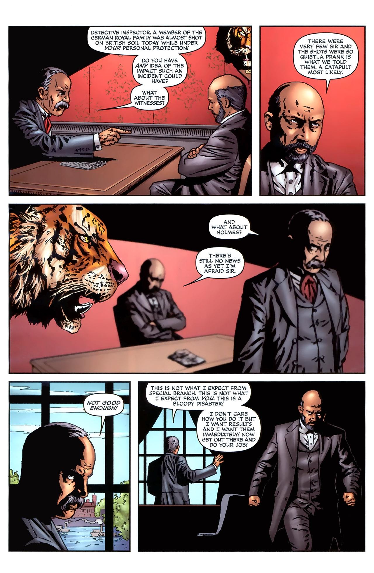 Read online Sherlock Holmes (2009) comic -  Issue #4 - 5