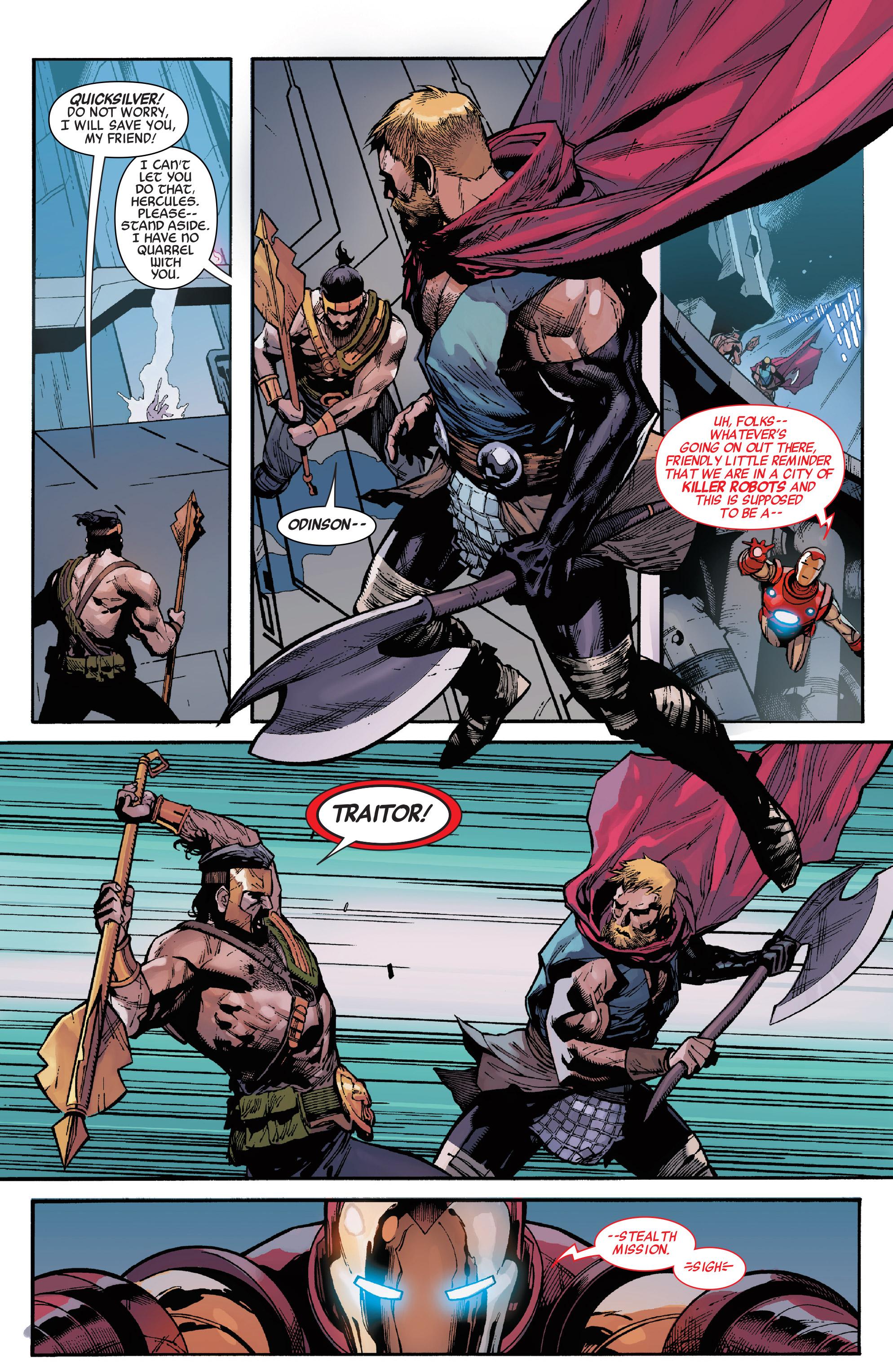 Read online Secret Empire comic -  Issue #4 - 16