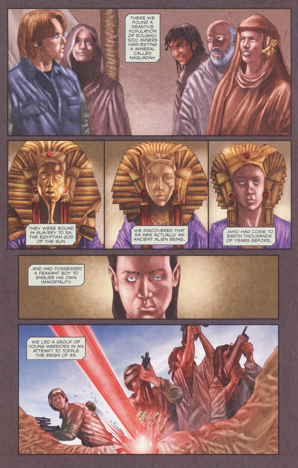 Read online Stargate SG-1: POW comic -  Issue #2 - 14
