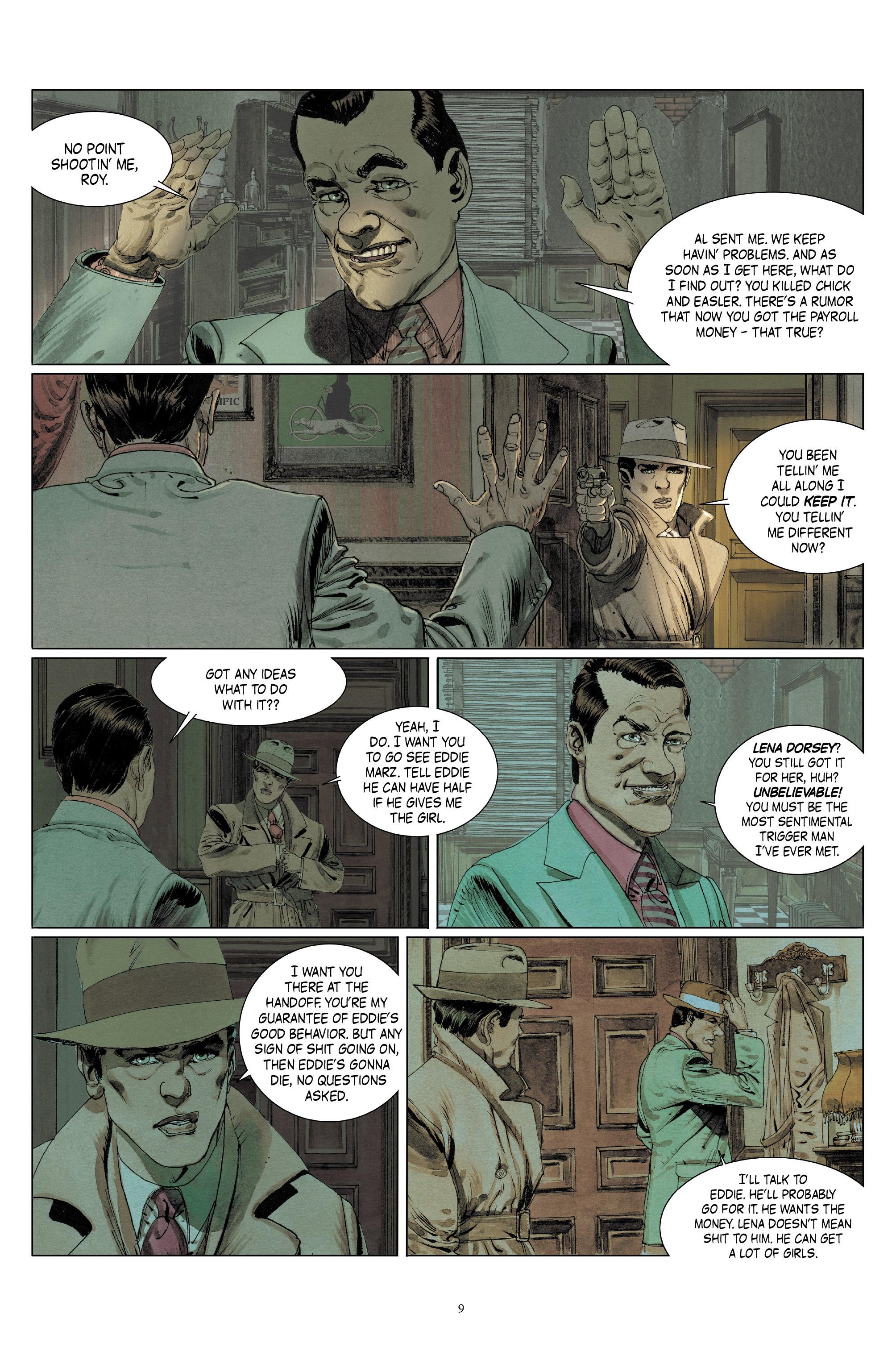 Read online Triggerman comic -  Issue #5 - 10