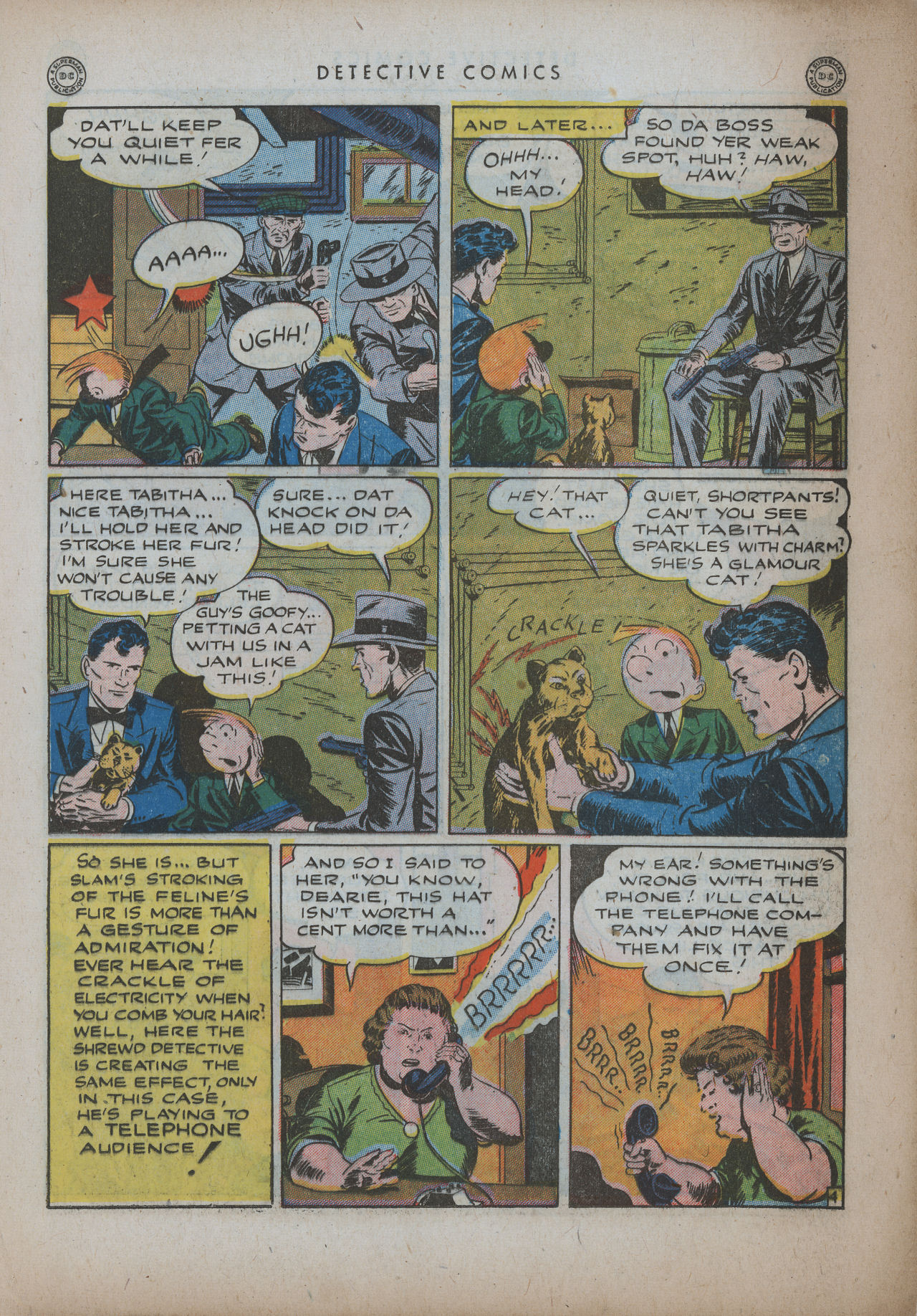 Read online Detective Comics (1937) comic -  Issue #94 - 25