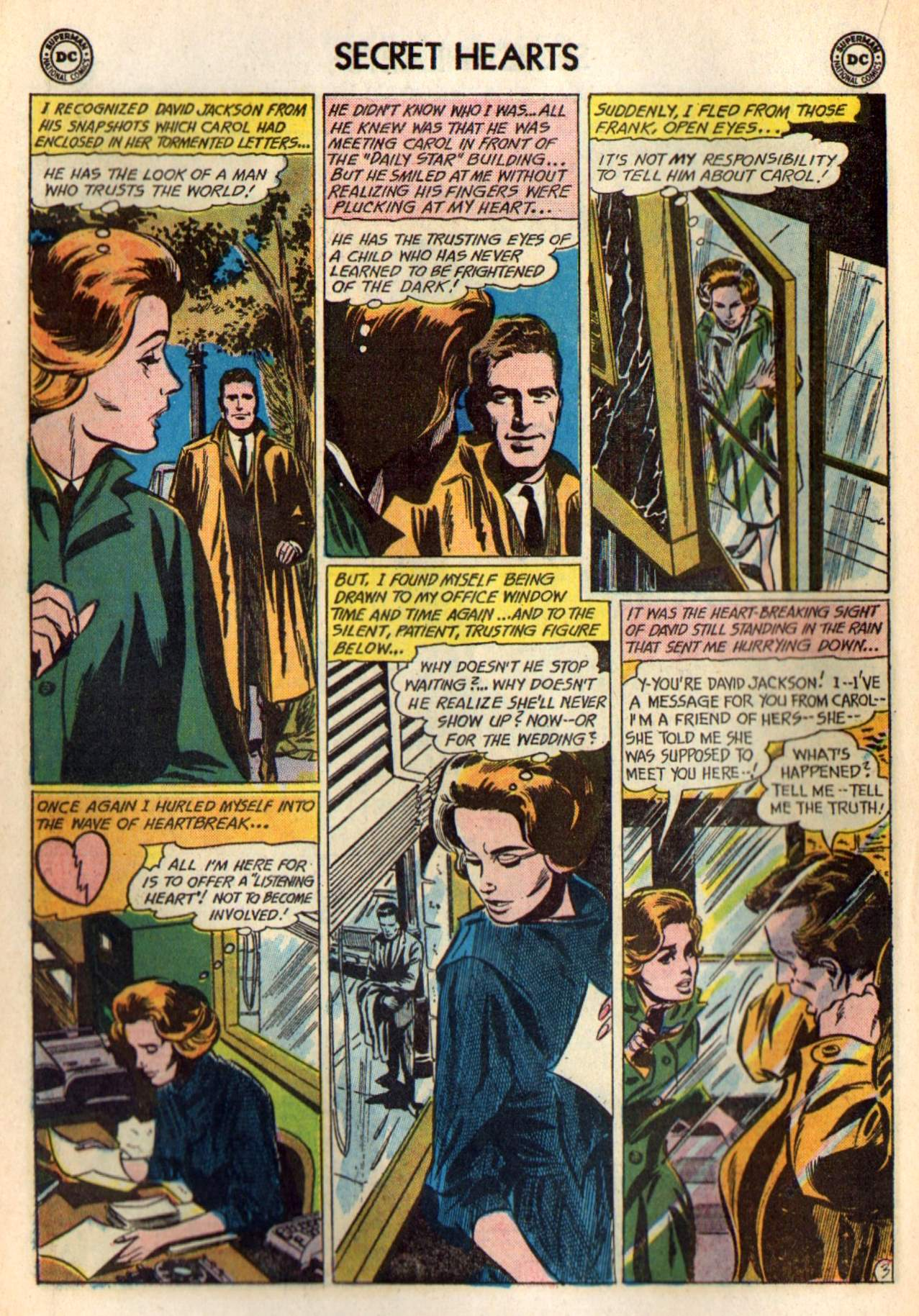 Read online Secret Hearts comic -  Issue #98 - 22