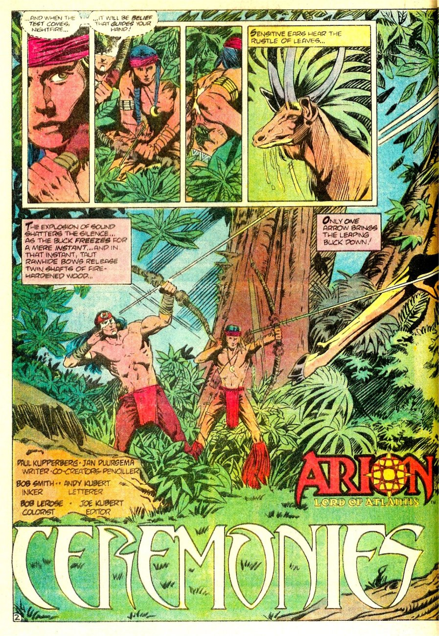 Read online Arion, Lord of Atlantis comic -  Issue #16 - 3