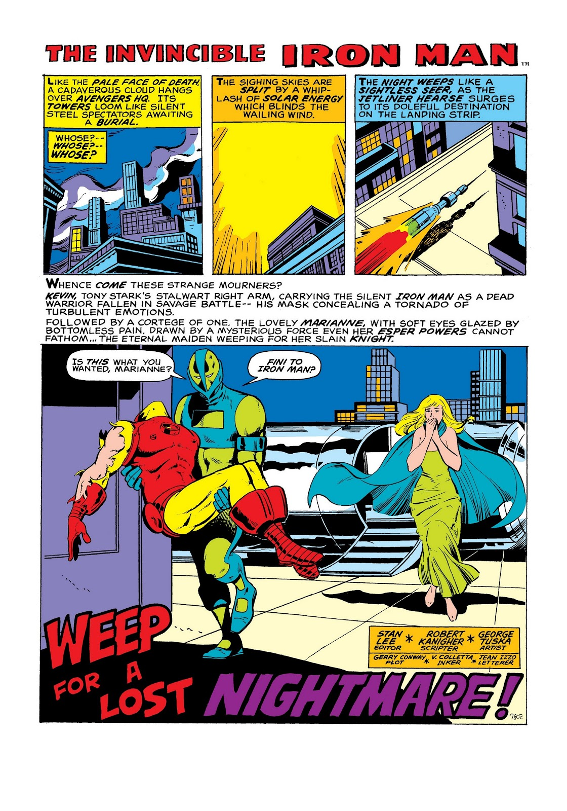 Read online Marvel Masterworks: The Invincible Iron Man comic -  Issue # TPB 8 (Part 2) - 9