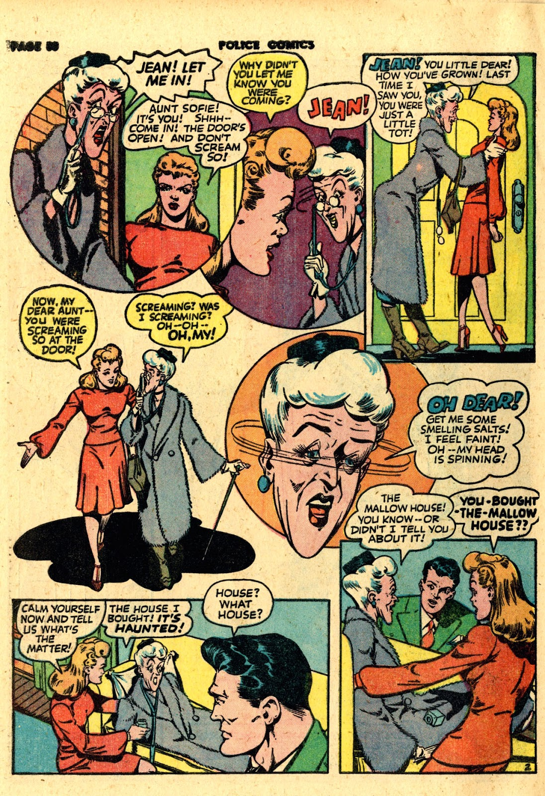 Police Comics issue 19 - Page 60