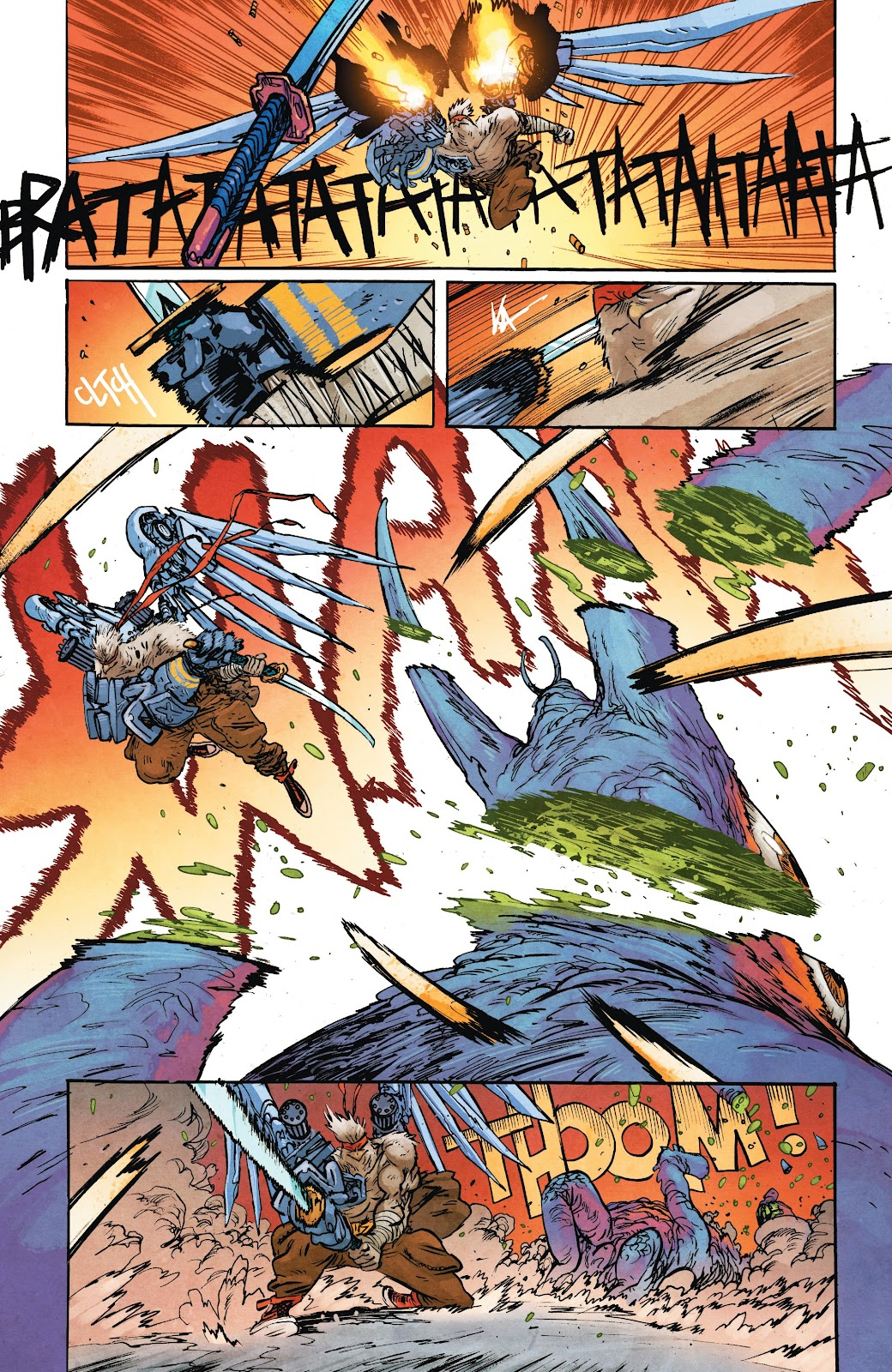 Read online Murder Falcon comic -  Issue #7 - 23