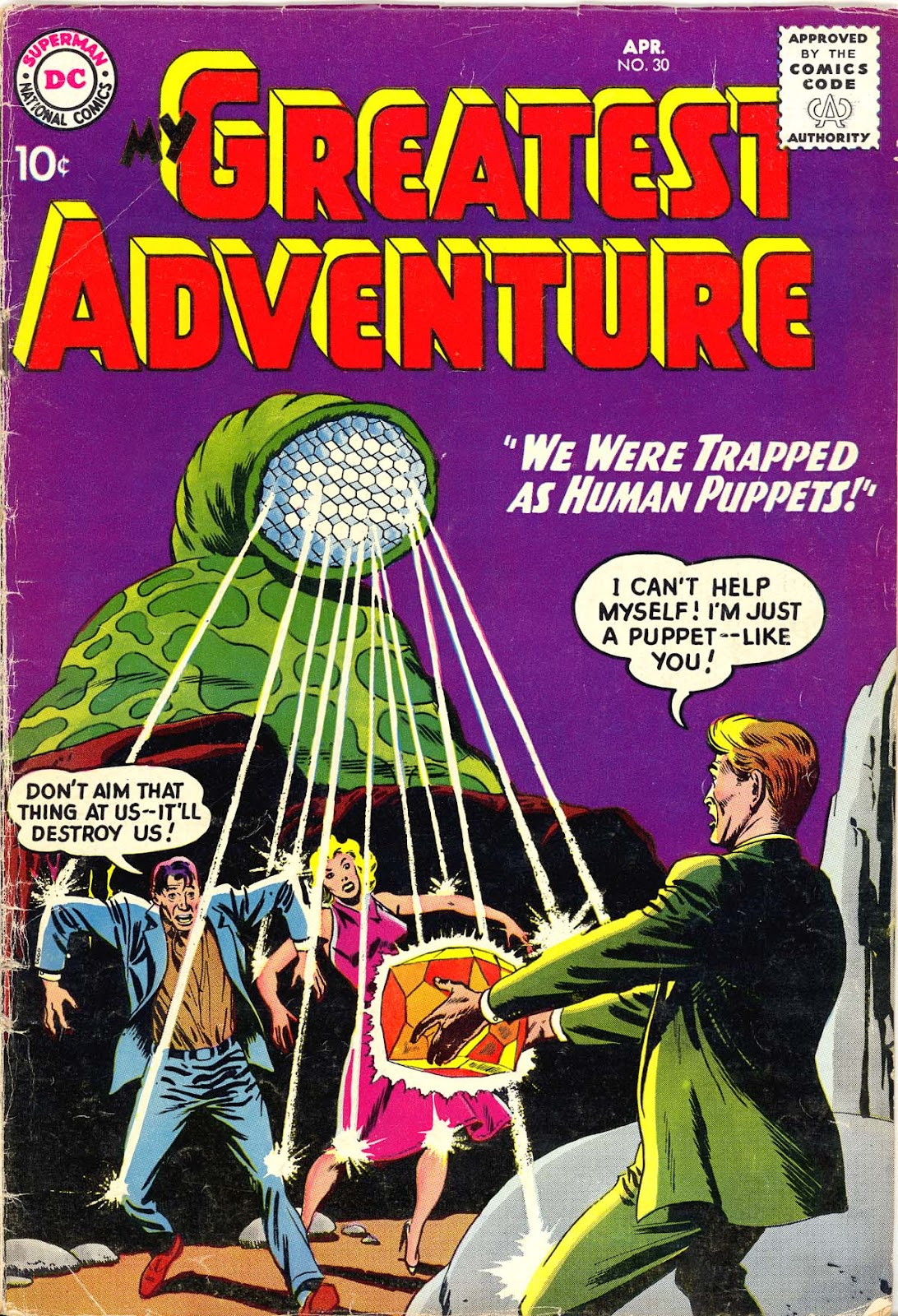 My Greatest Adventure (1955) issue 30 - Page 1