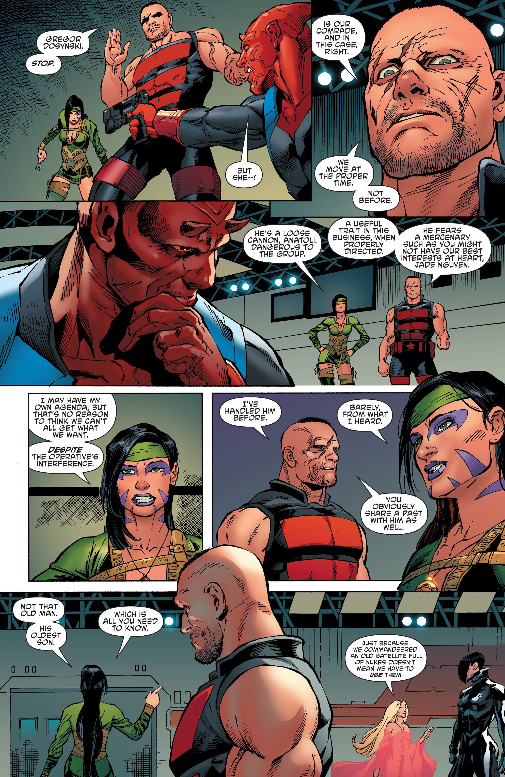 Read online Aquaman and the Others comic -  Issue #8 - 8