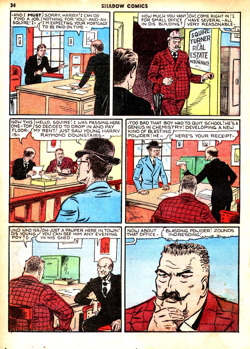Read online Shadow Comics comic -  Issue #7 - 27