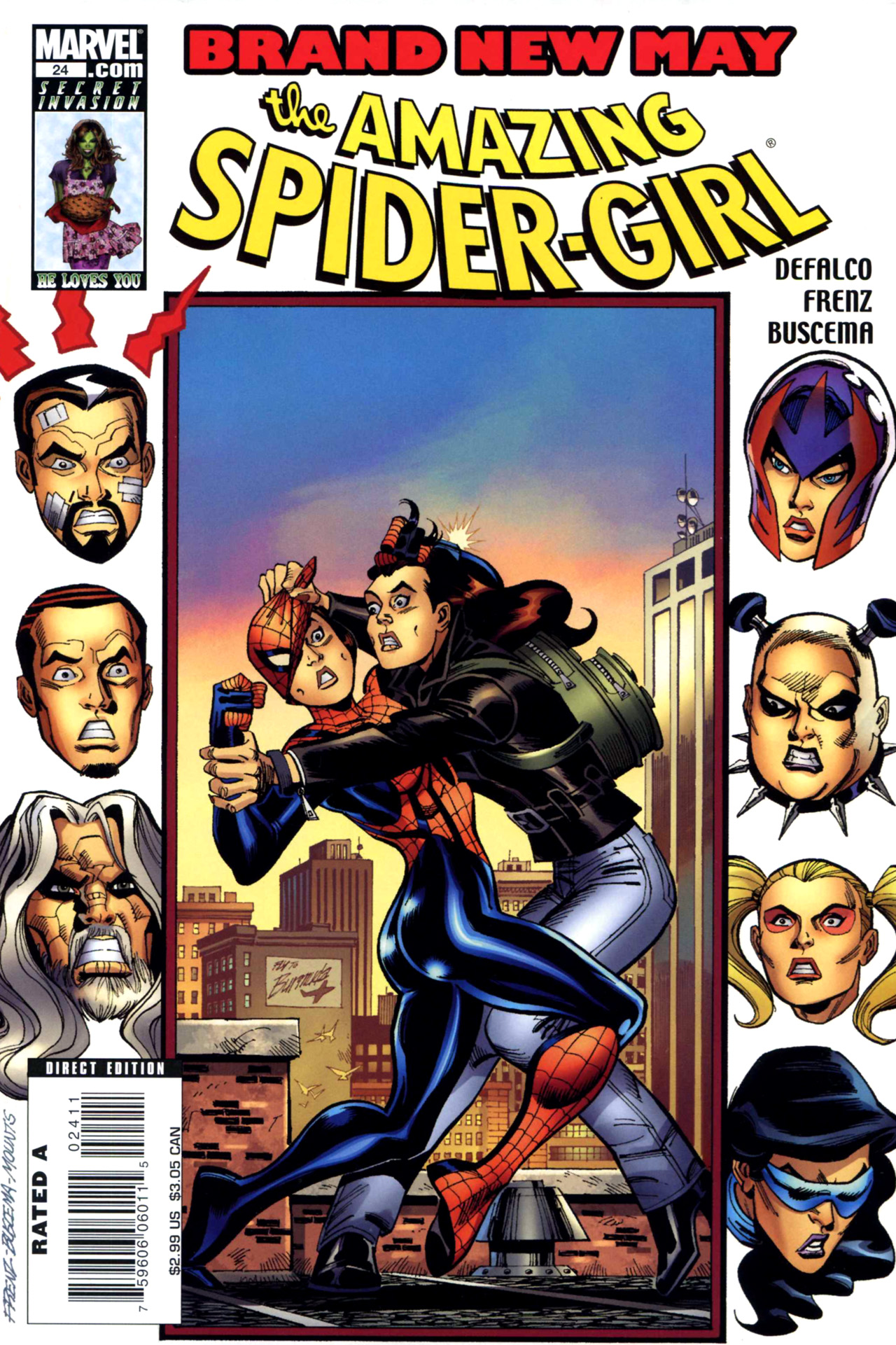 Read online Amazing Spider-Girl comic -  Issue #24 - 1
