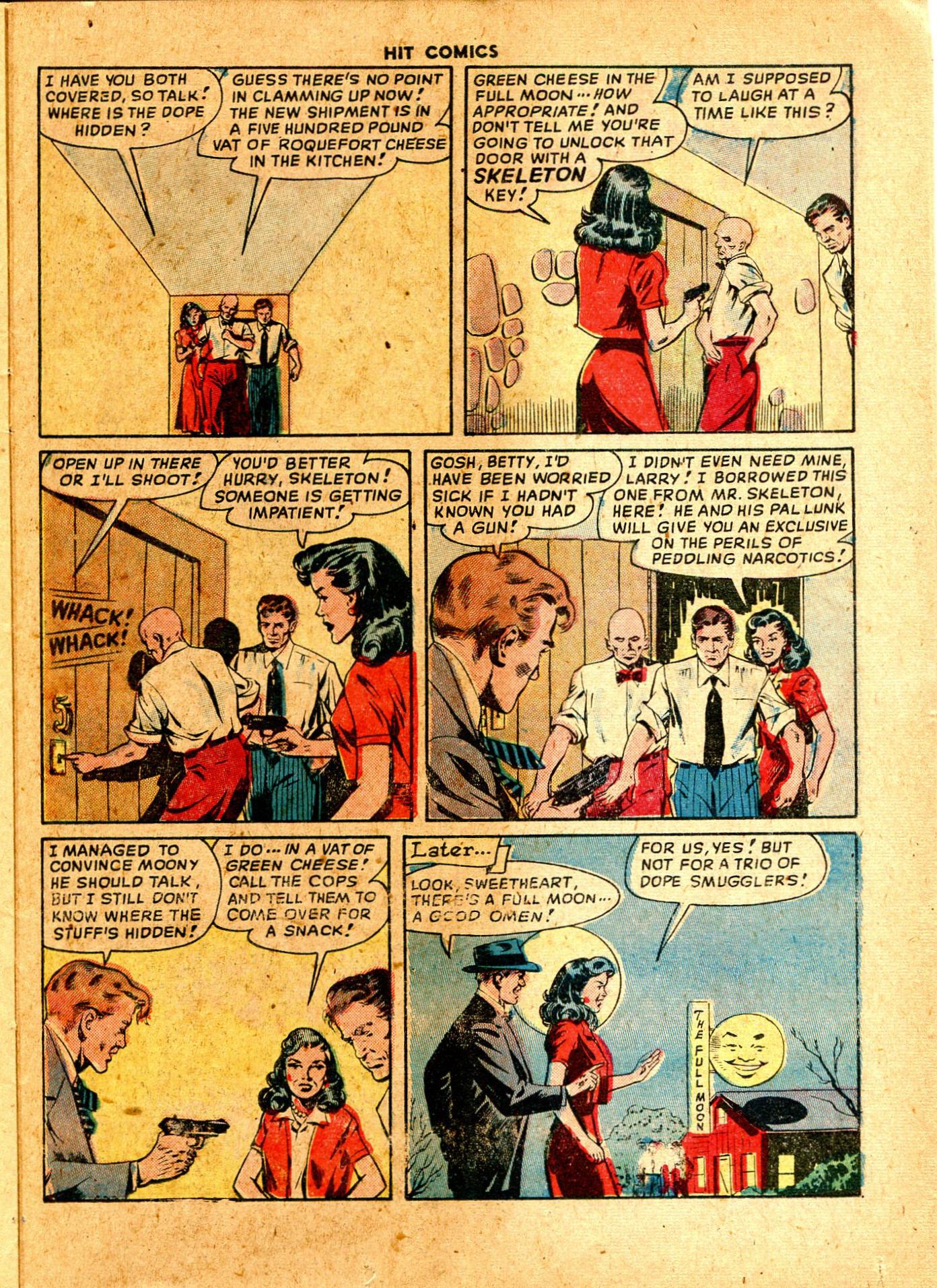 Read online Hit Comics comic -  Issue #57 - 37