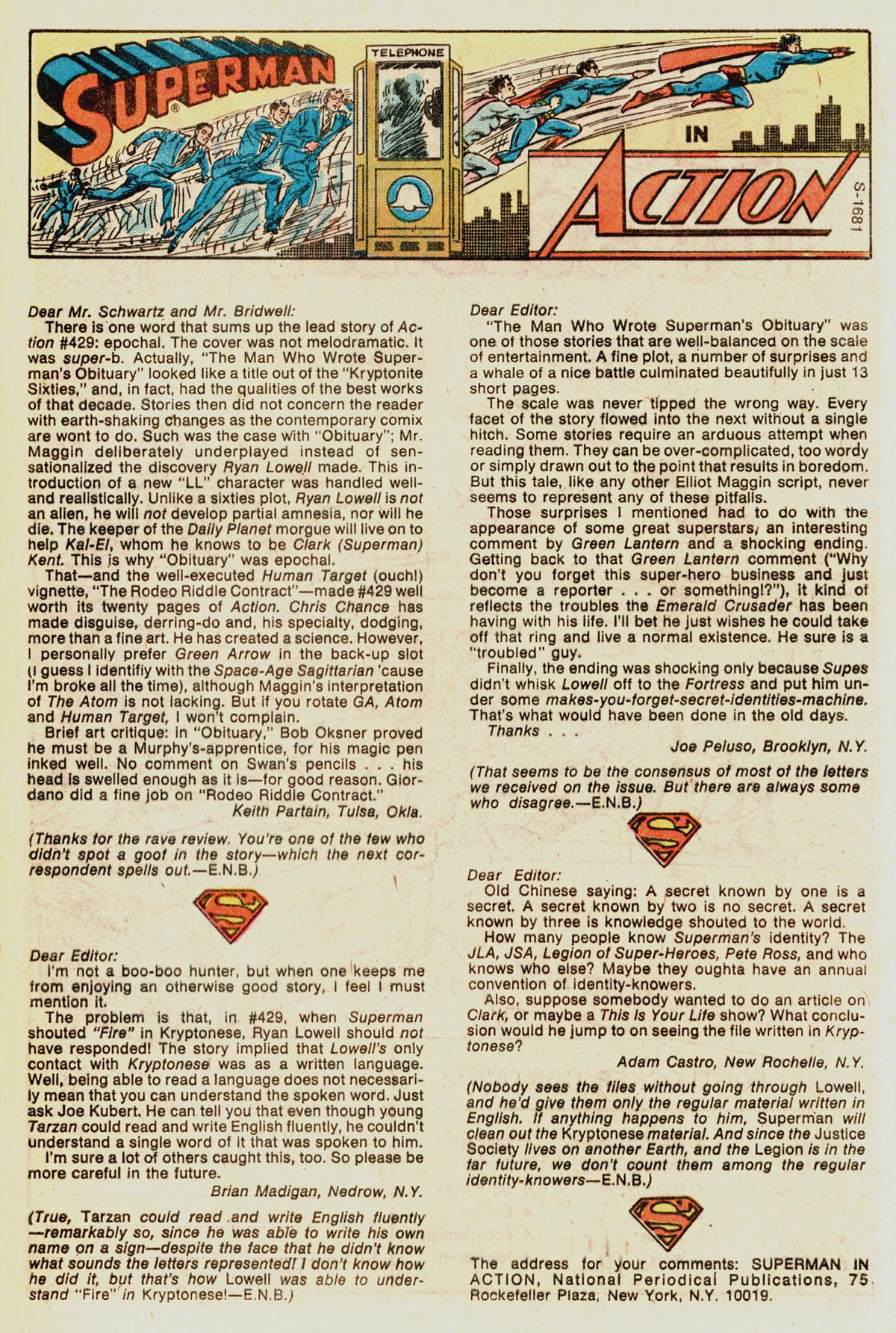Action Comics (1938) 433 Page 32