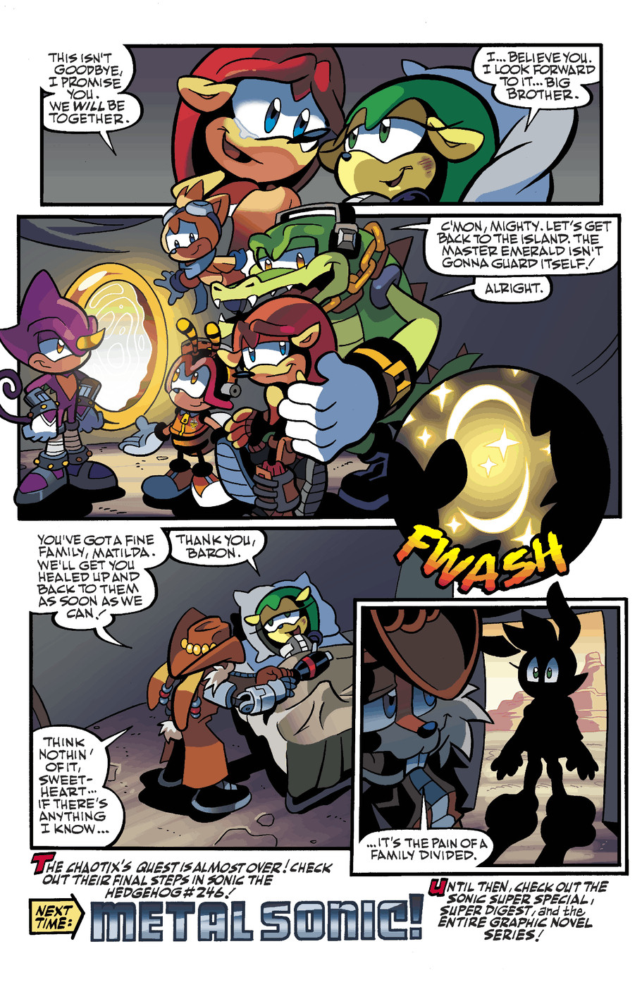 Read online Sonic Universe comic -  Issue #49 - 22