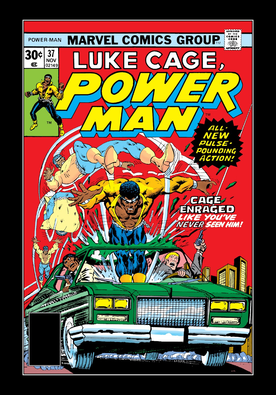 Read online Marvel Masterworks: Luke Cage, Power Man comic -  Issue # TPB 3 (Part 2) - 18