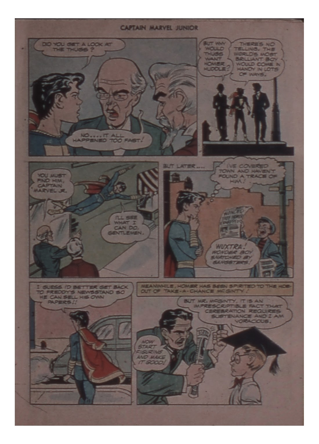 Captain Marvel, Jr. issue 58 - Page 19