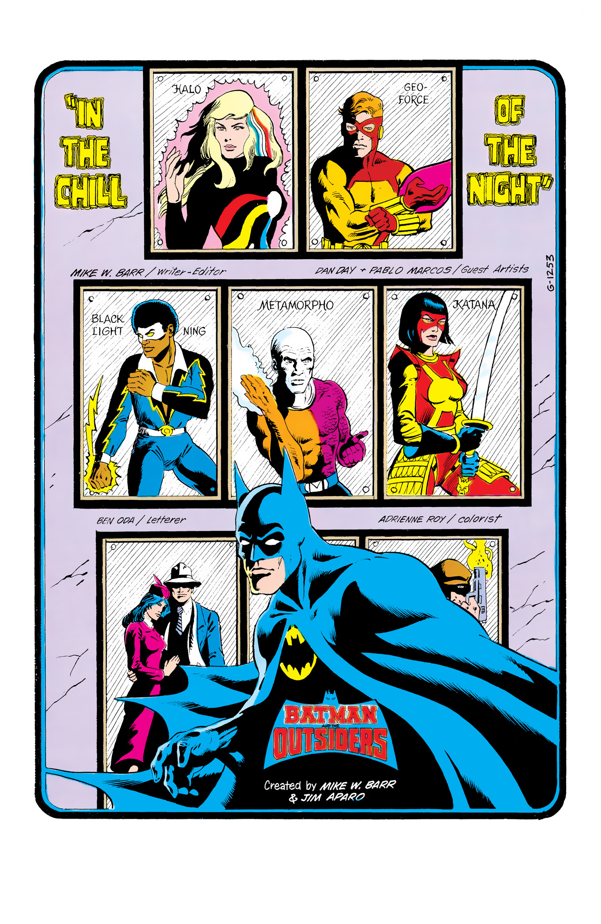 Batman and the Outsiders (1983) 13 Page 2