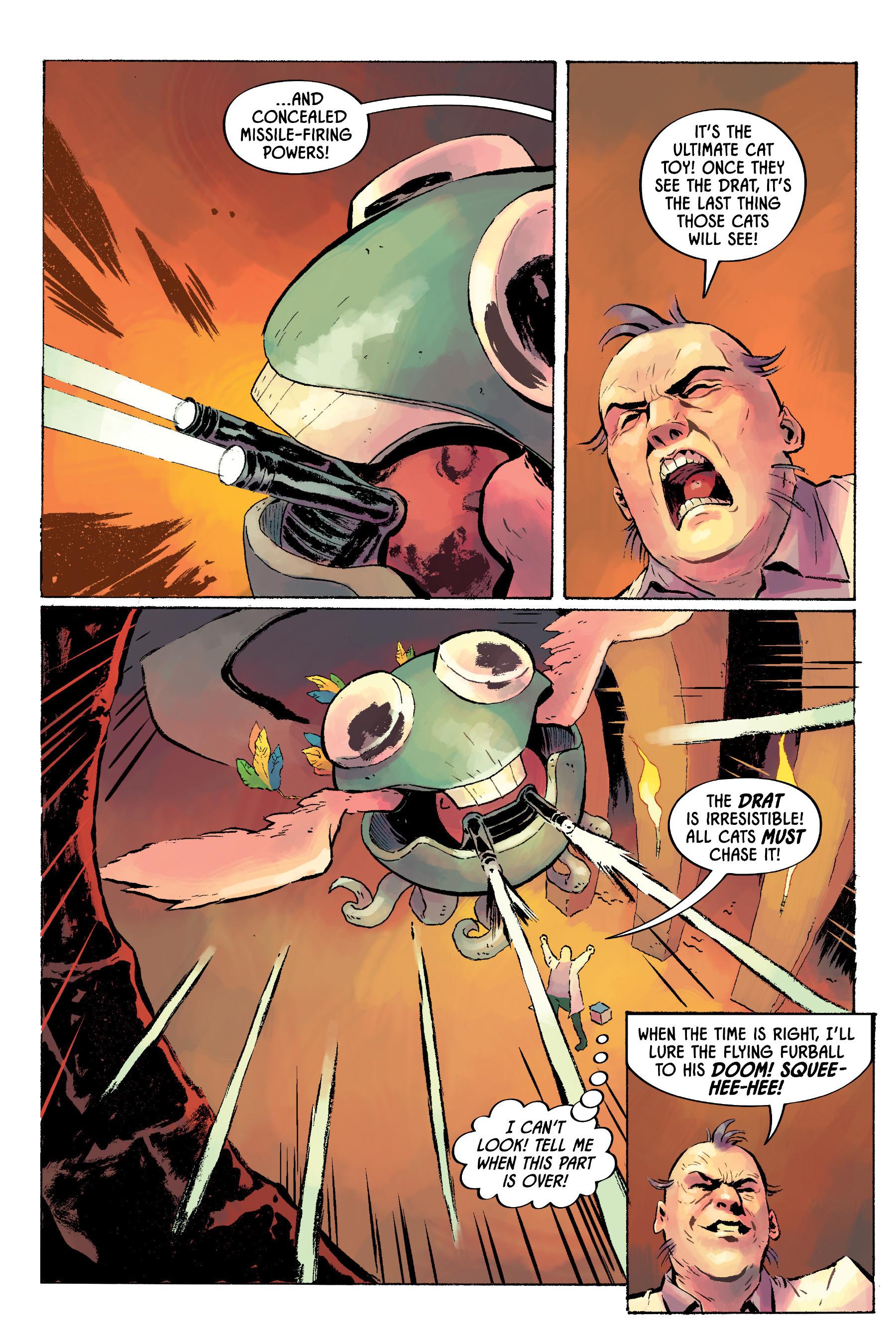 Read online Angel Catbird comic -  Issue # TPB 2 - 40