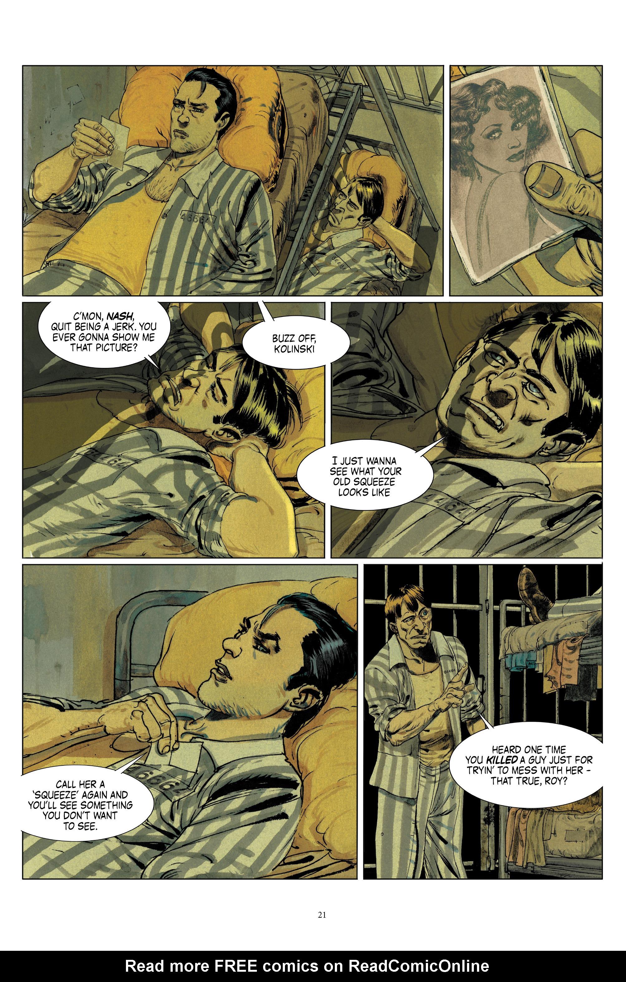 Read online Triggerman comic -  Issue #1 - 26