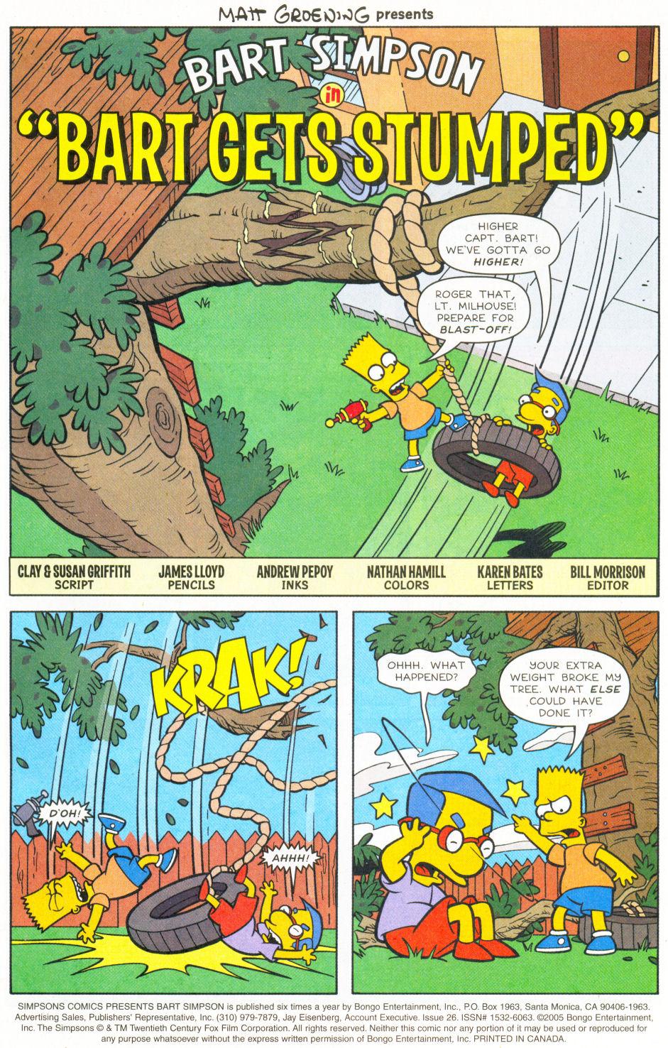 Read online Simpsons Comics Presents Bart Simpson comic -  Issue #26 - 2