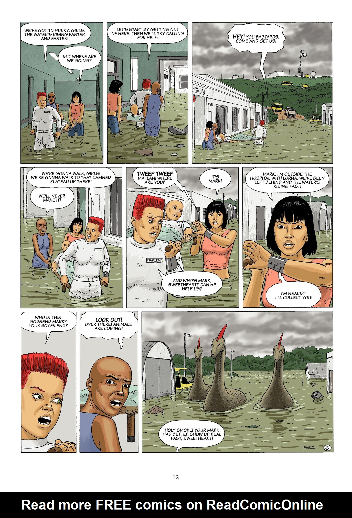 Read online Antares comic -  Issue #6 - 14
