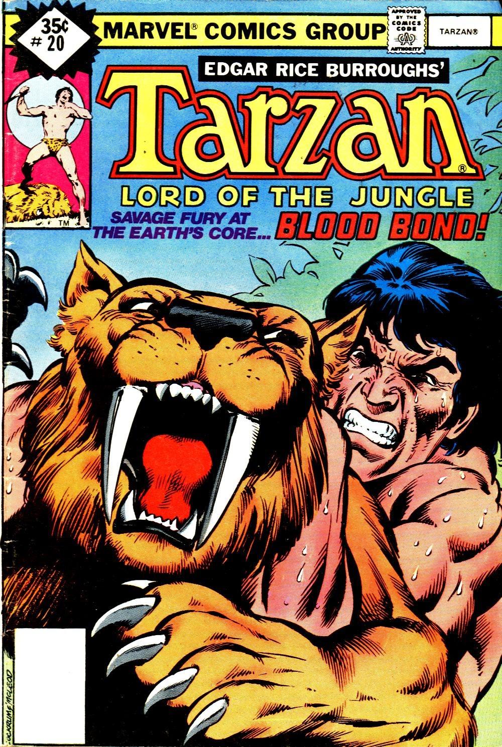 Tarzan (1977) issue 20 - Page 1