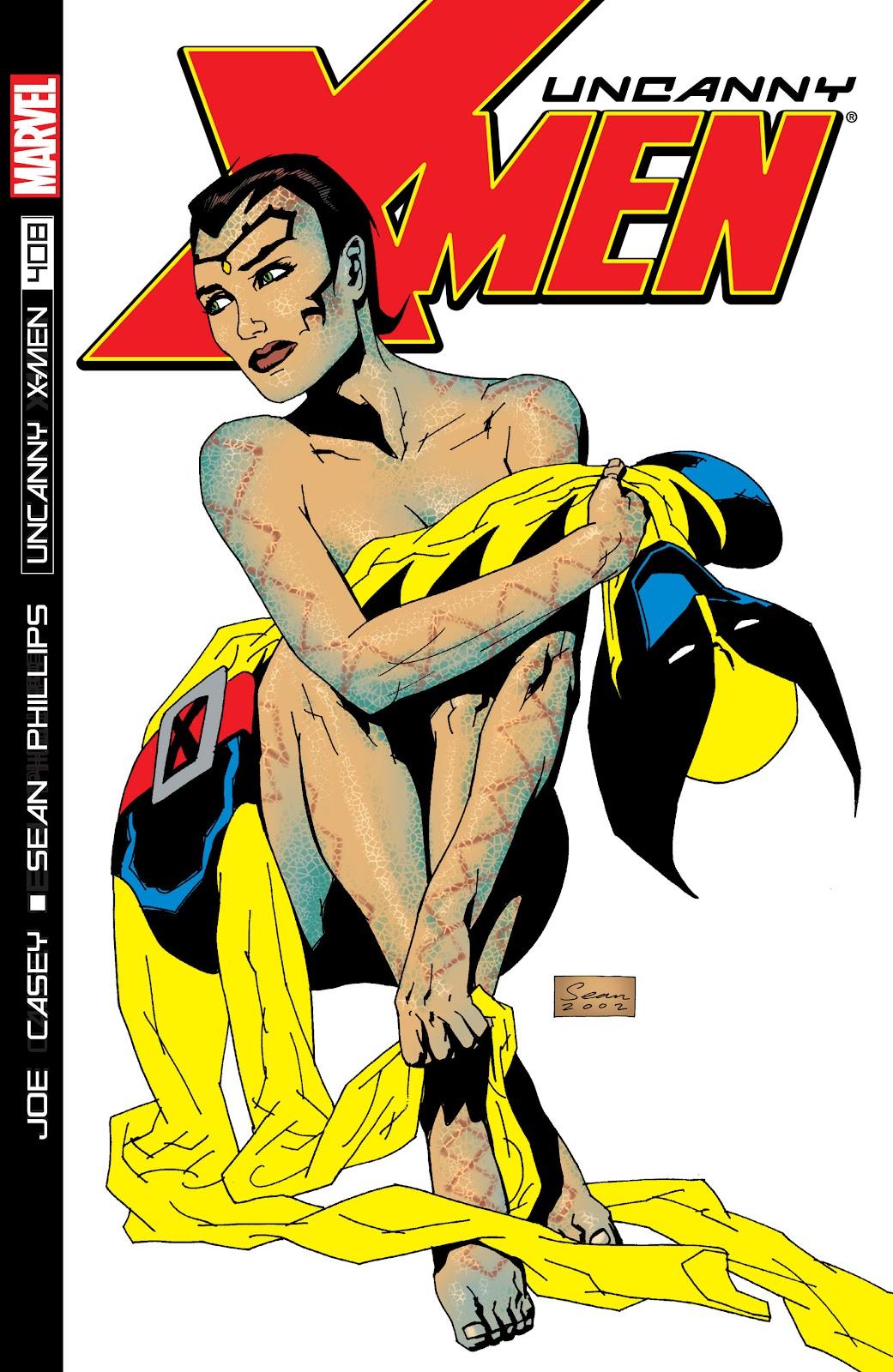 Uncanny X-Men (1963) issue 408 - Page 1