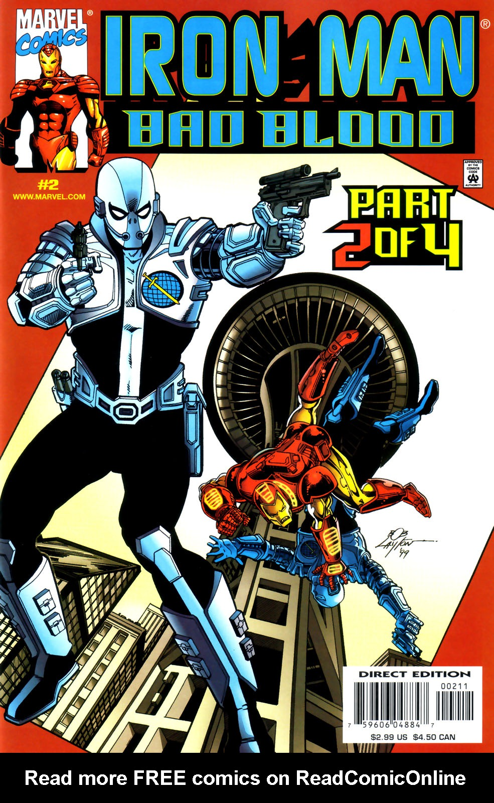 Iron Man: Bad Blood 2 Page 1