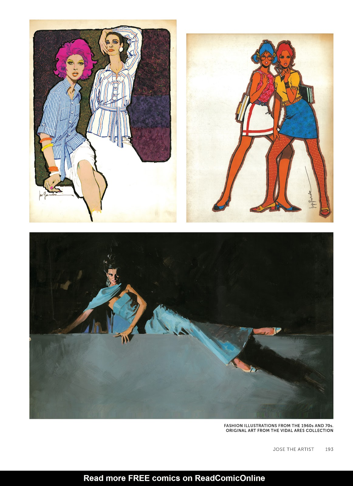 Read online The Art of Jose Gonzalez comic -  Issue # TPB (Part 2) - 95
