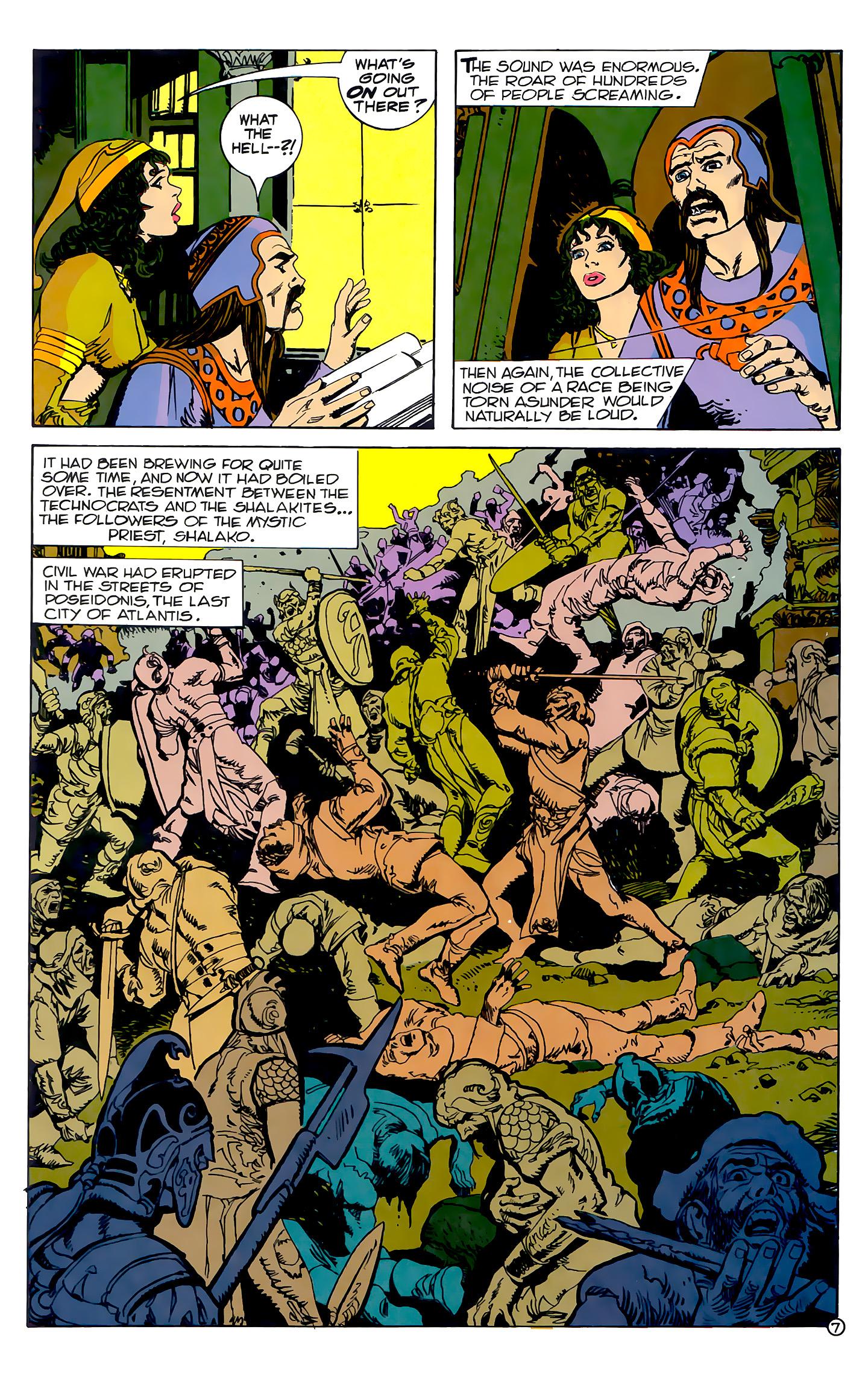 Read online Atlantis Chronicles comic -  Issue #2 - 7