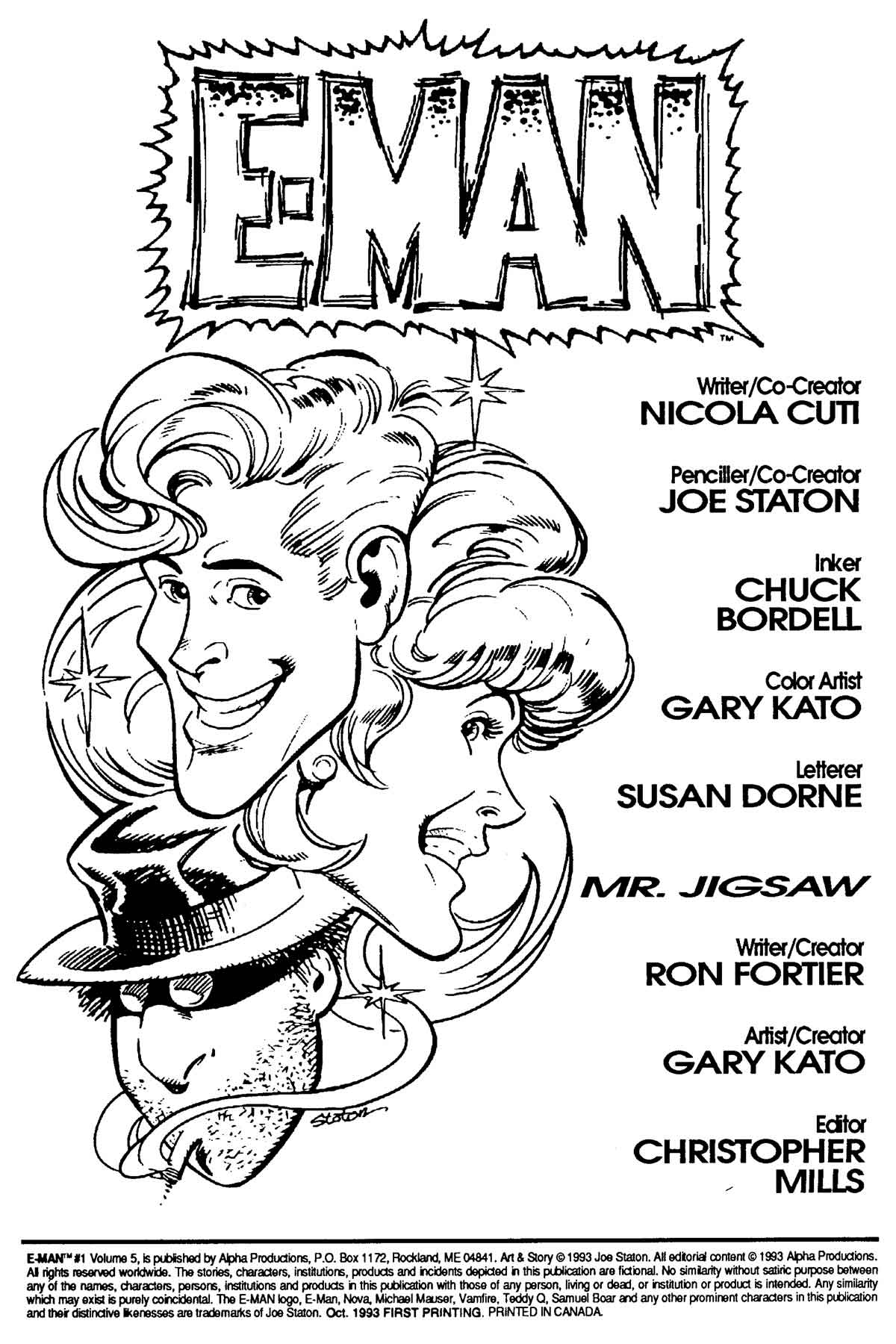 Read online E-man (1993) comic -  Issue # Full - 3