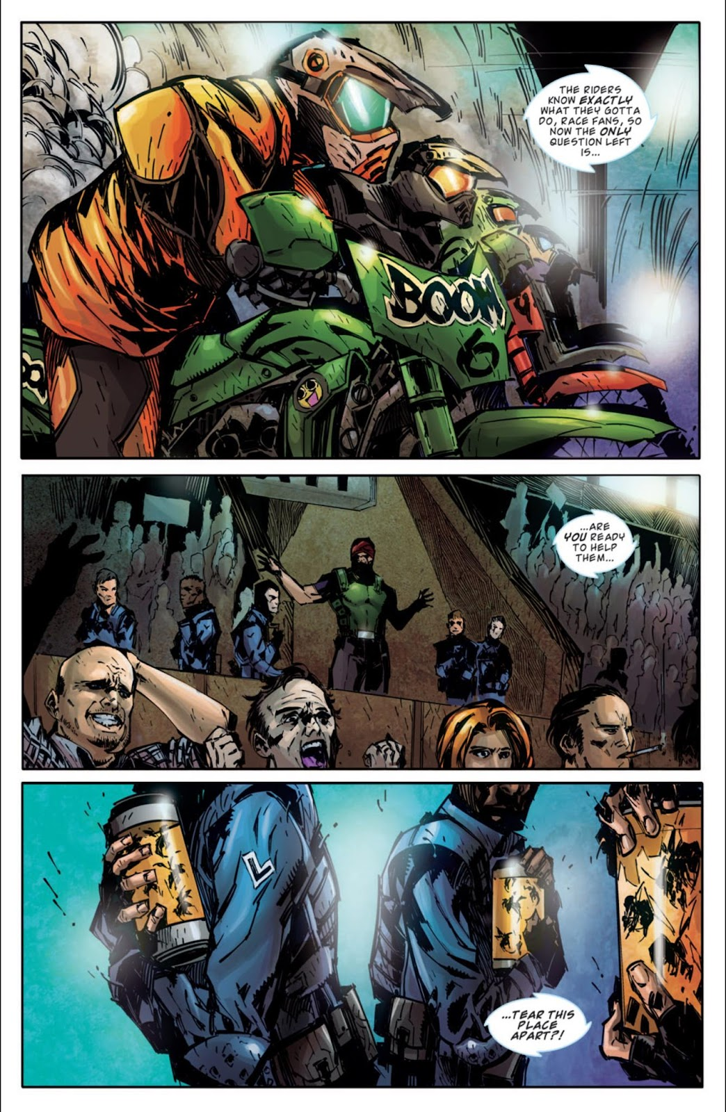 Read online Dead Rising: Road to Fortune comic -  Issue #3 - 8