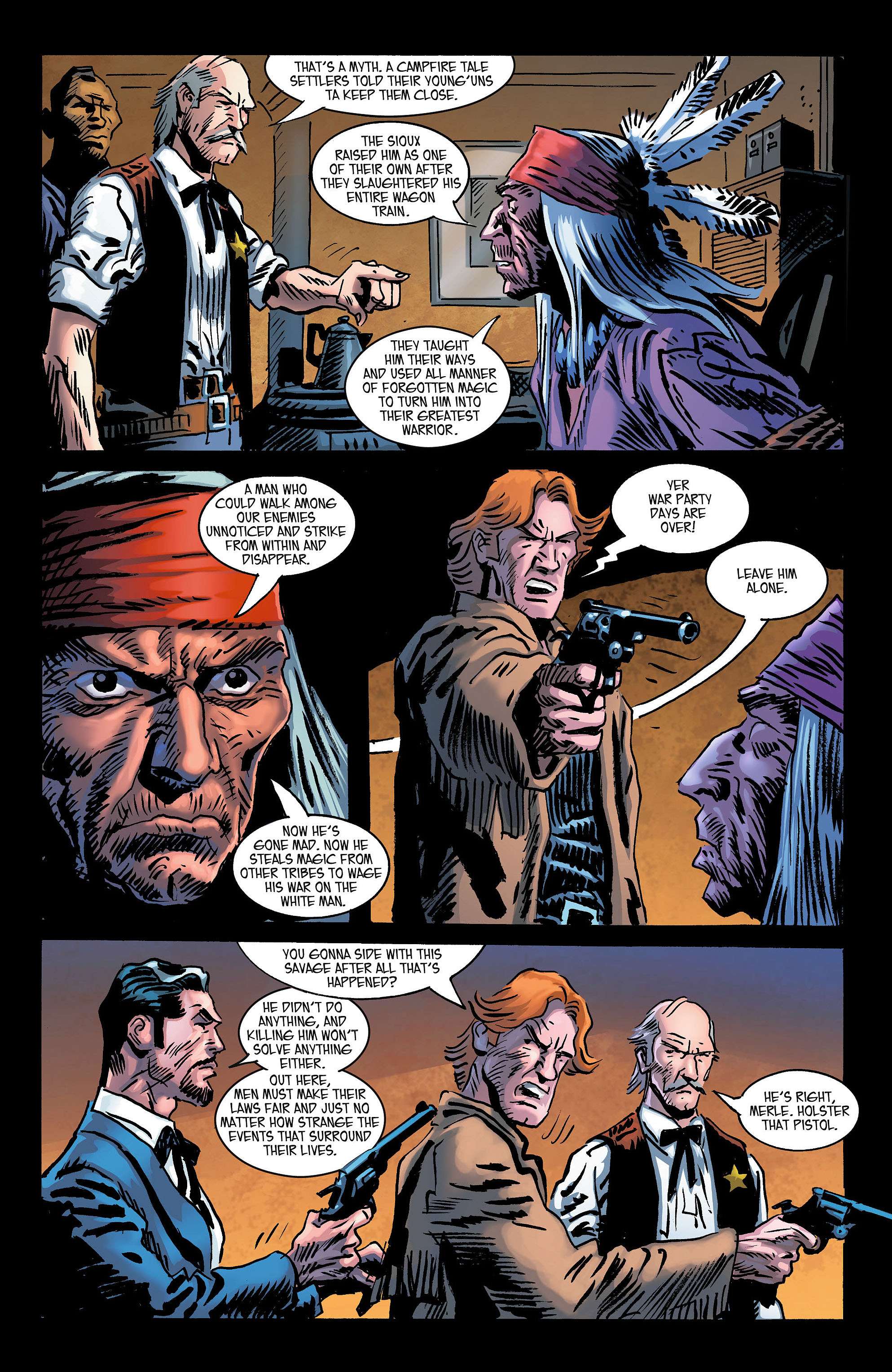 Read online All-Star Western (2011) comic -  Issue #3 - 25
