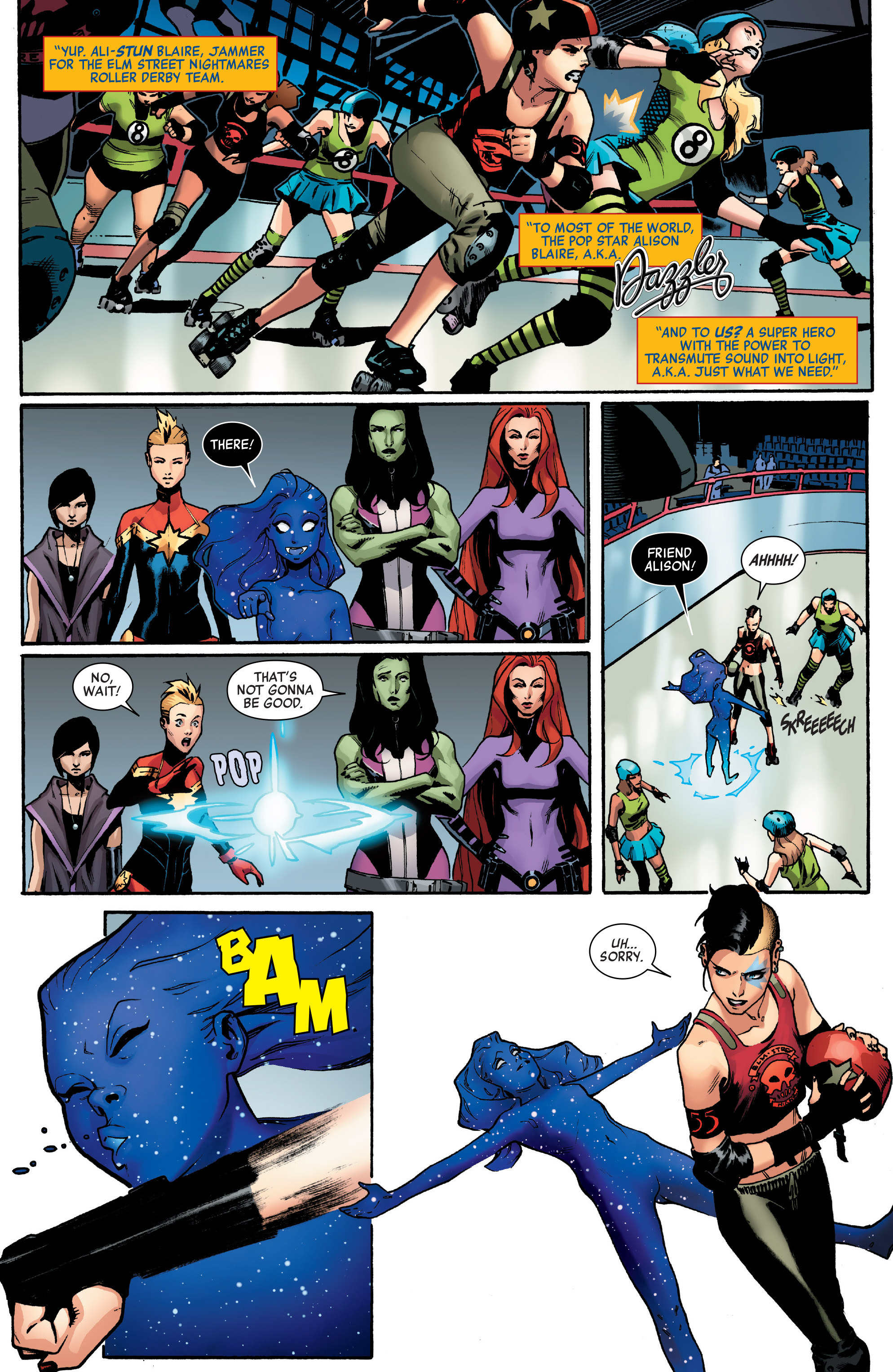 Read online A-Force (2016) comic -  Issue #2 - 20