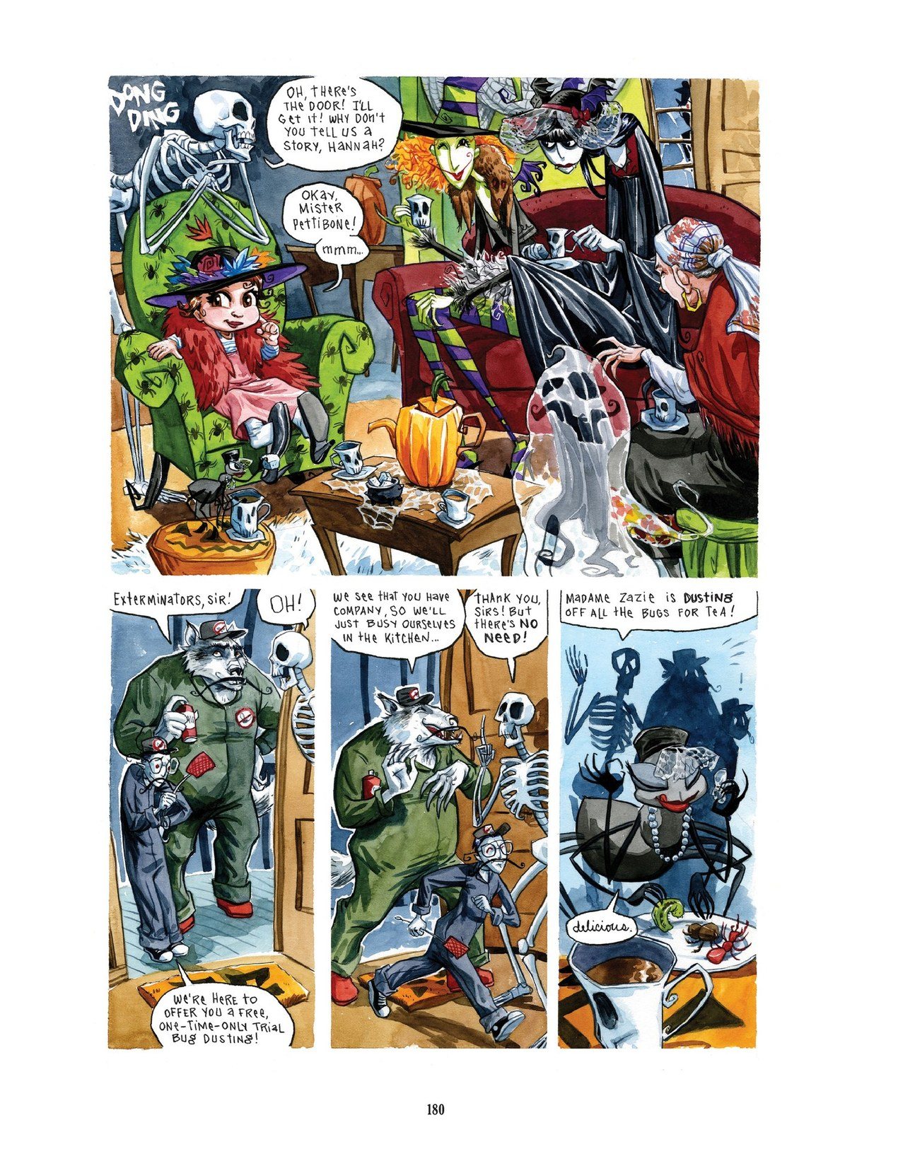 Read online Scary Godmother comic -  Issue # TPB - 180