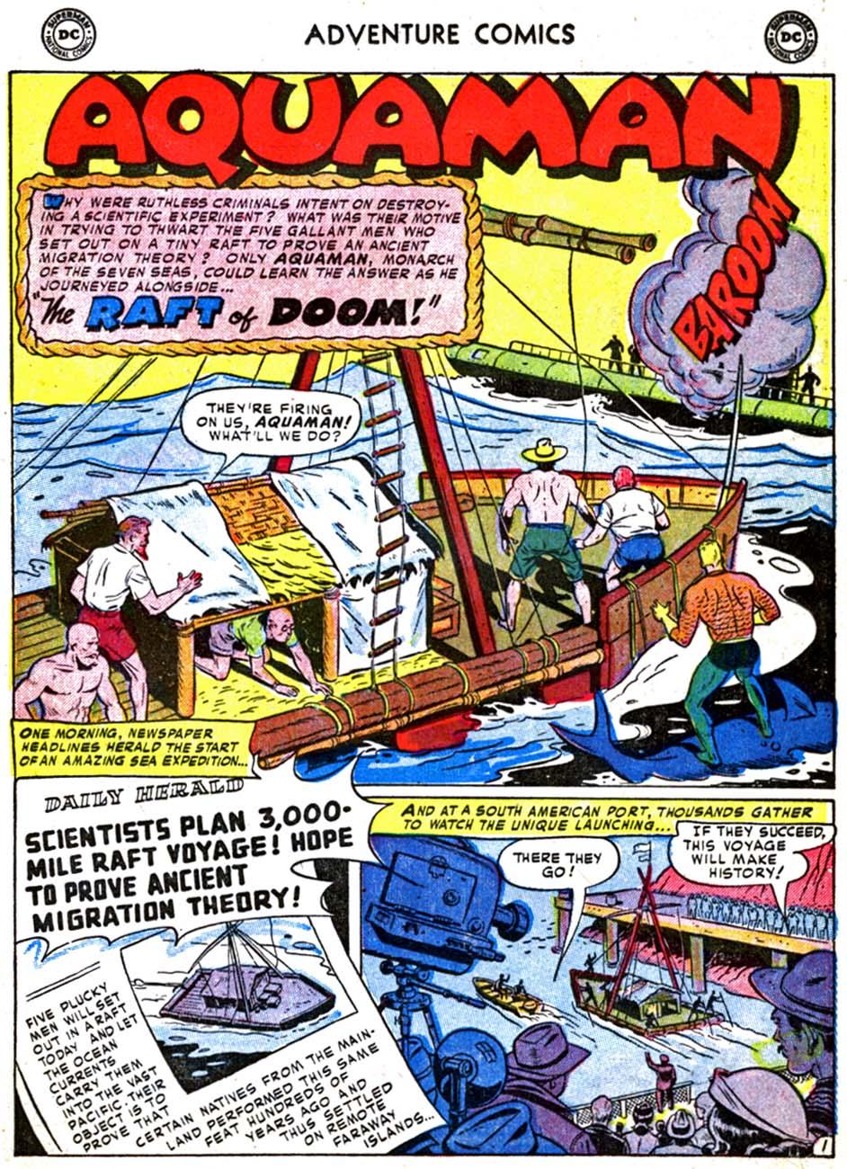 Read online Adventure Comics (1938) comic -  Issue #179 - 17