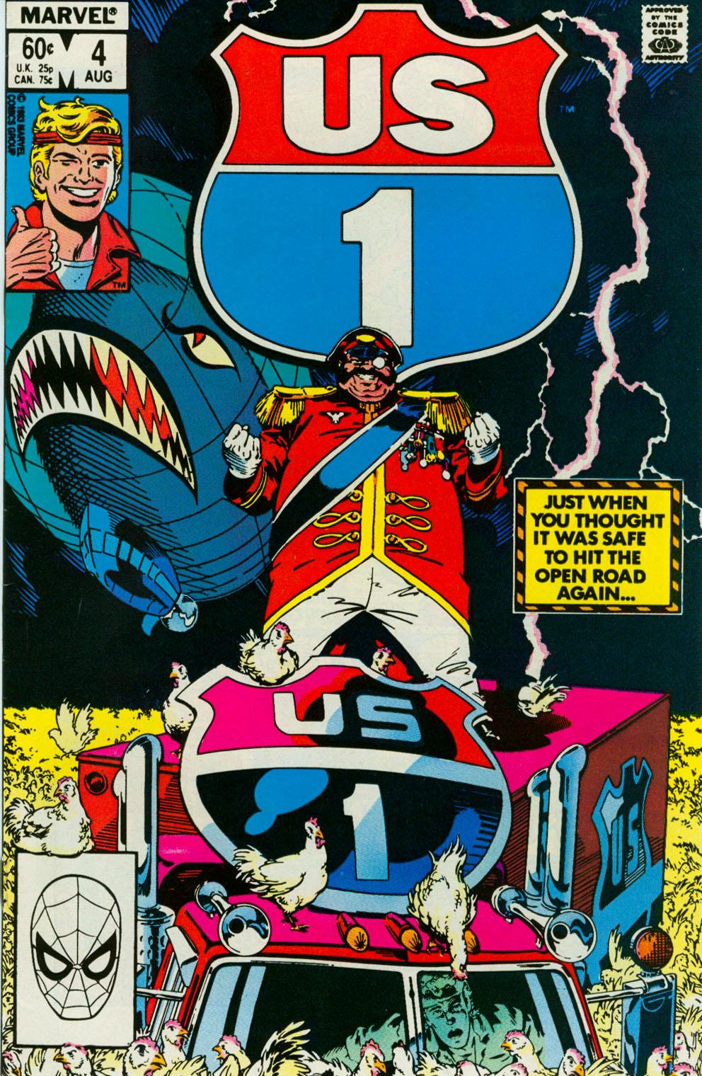 Read online U.S. 1 comic -  Issue #4 - 1