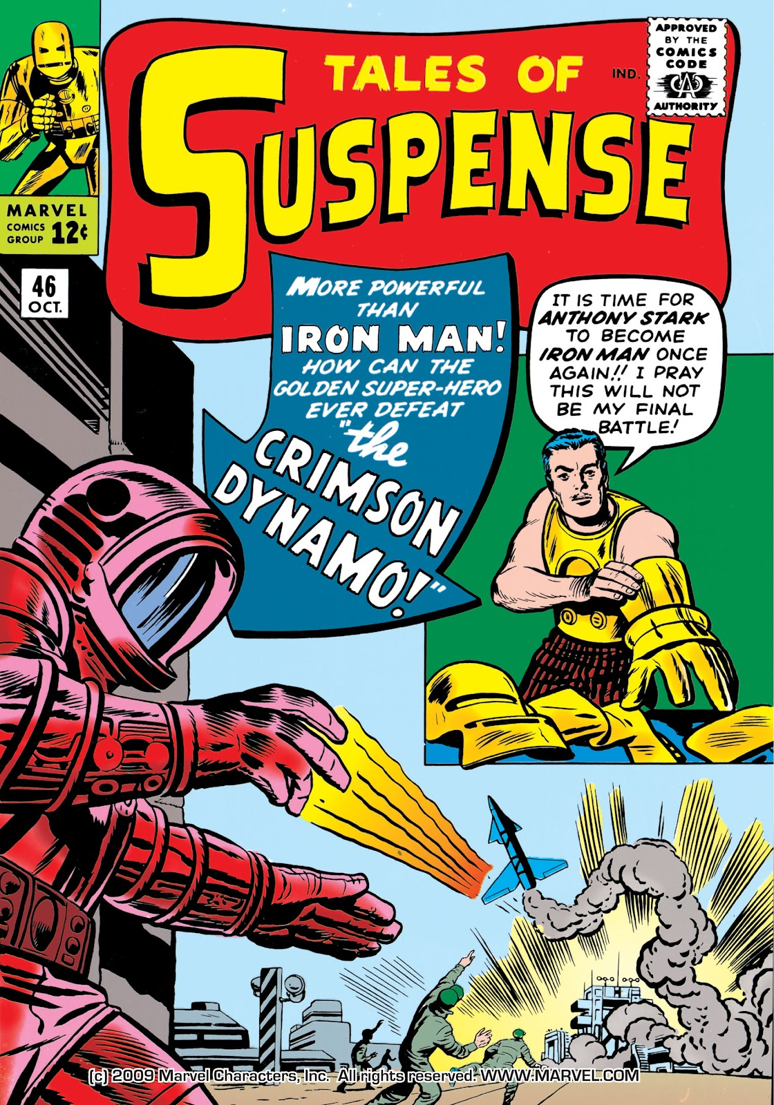 Read online Marvel Masterworks: The Invincible Iron Man comic -  Issue # TPB 1 (Part 2) - 6