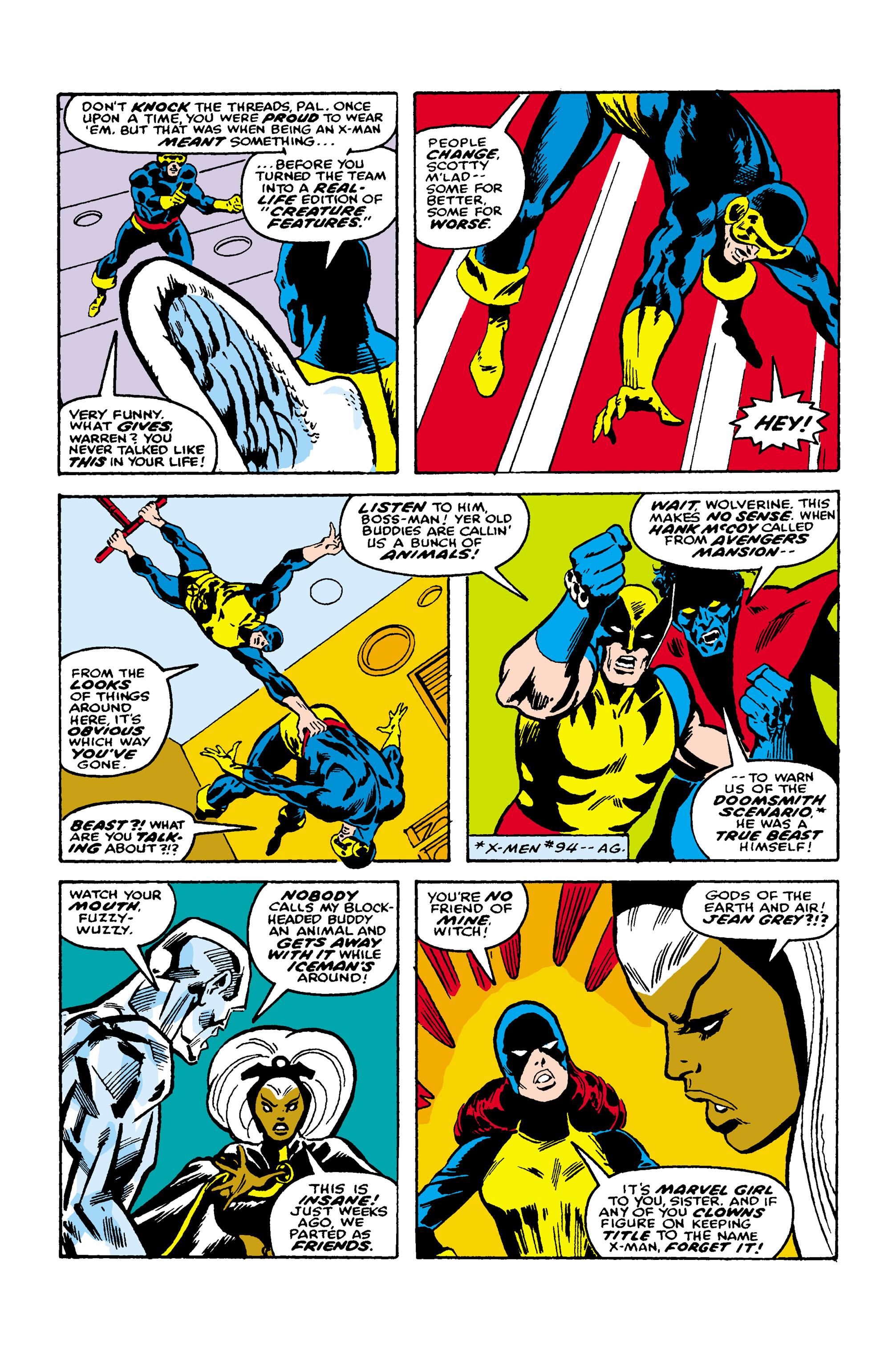Read online Uncanny X-Men (1963) comic -  Issue #106 - 7