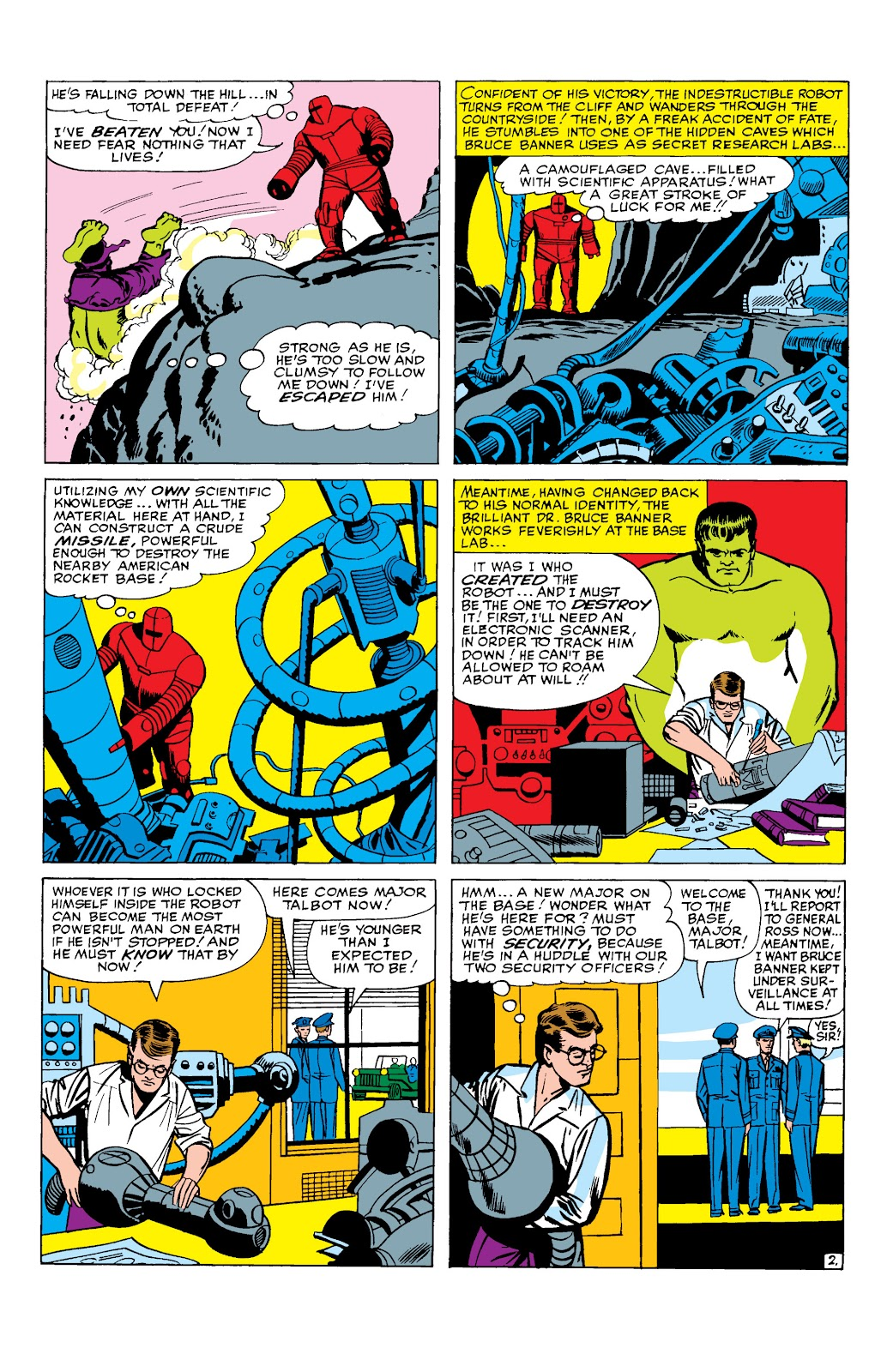 Read online Marvel Masterworks: The Incredible Hulk comic -  Issue # TPB 2 (Part 1) - 36