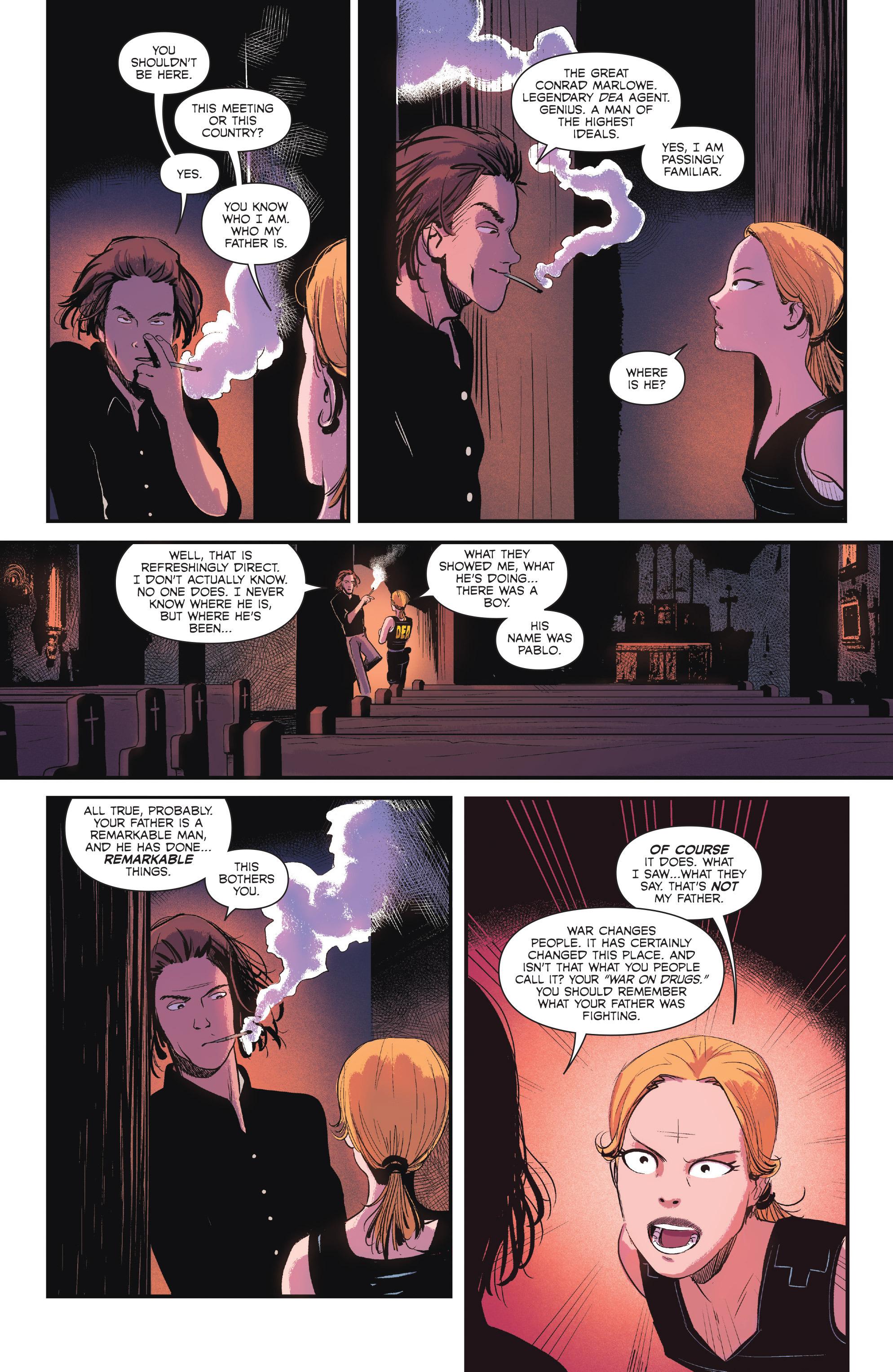 Read online Sombra comic -  Issue #1 - 22