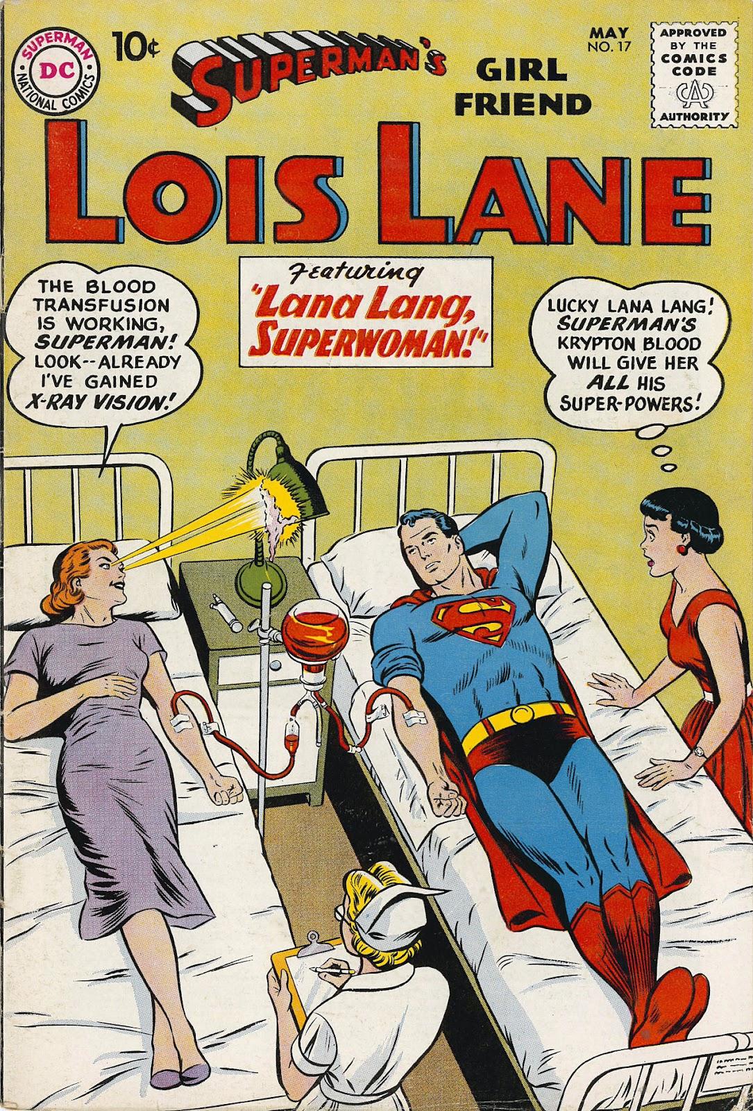 Supermans Girl Friend, Lois Lane 17 Page 1