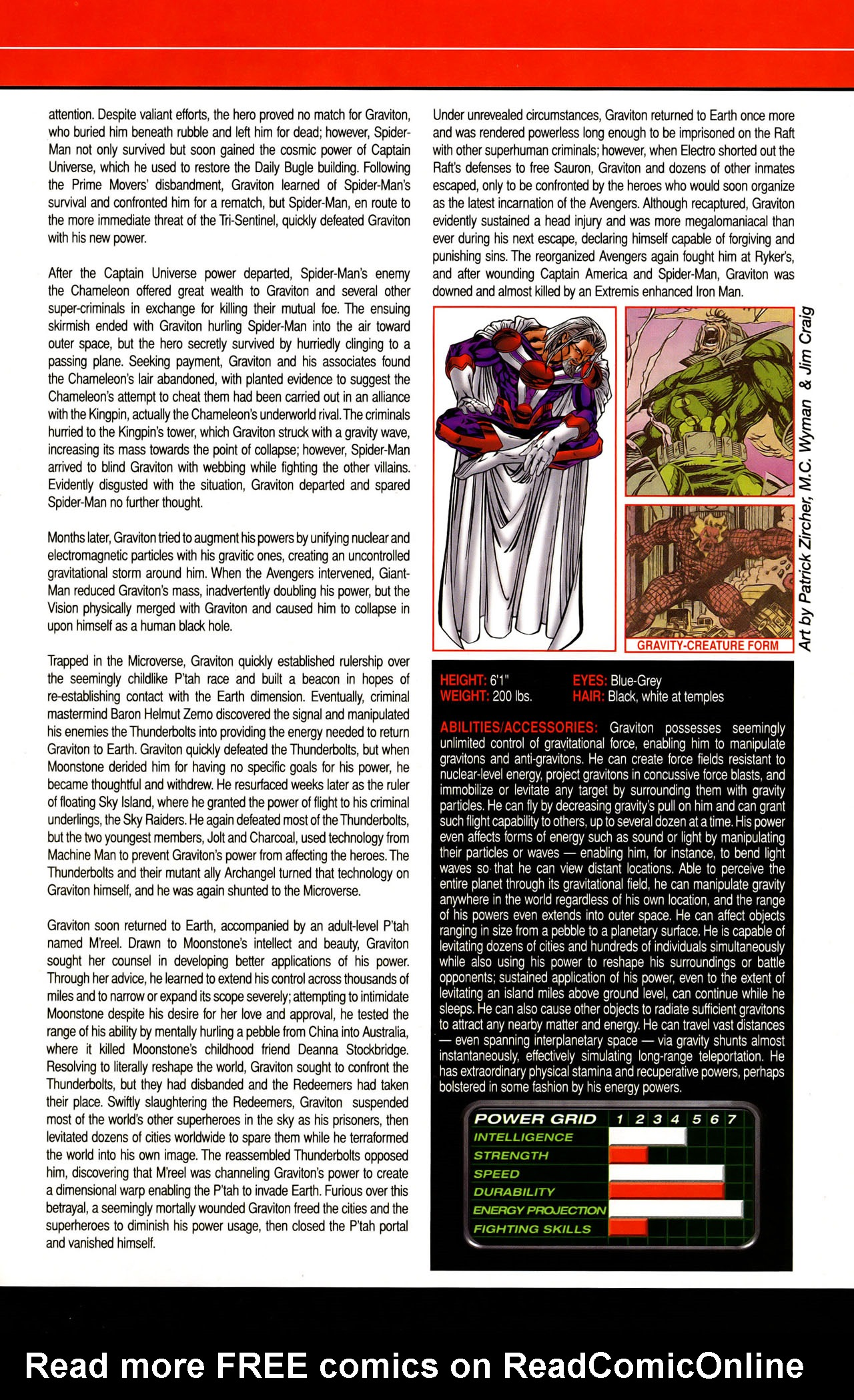 Read online All-New Official Handbook of the Marvel Universe A to Z: Update comic -  Issue #1 - 16
