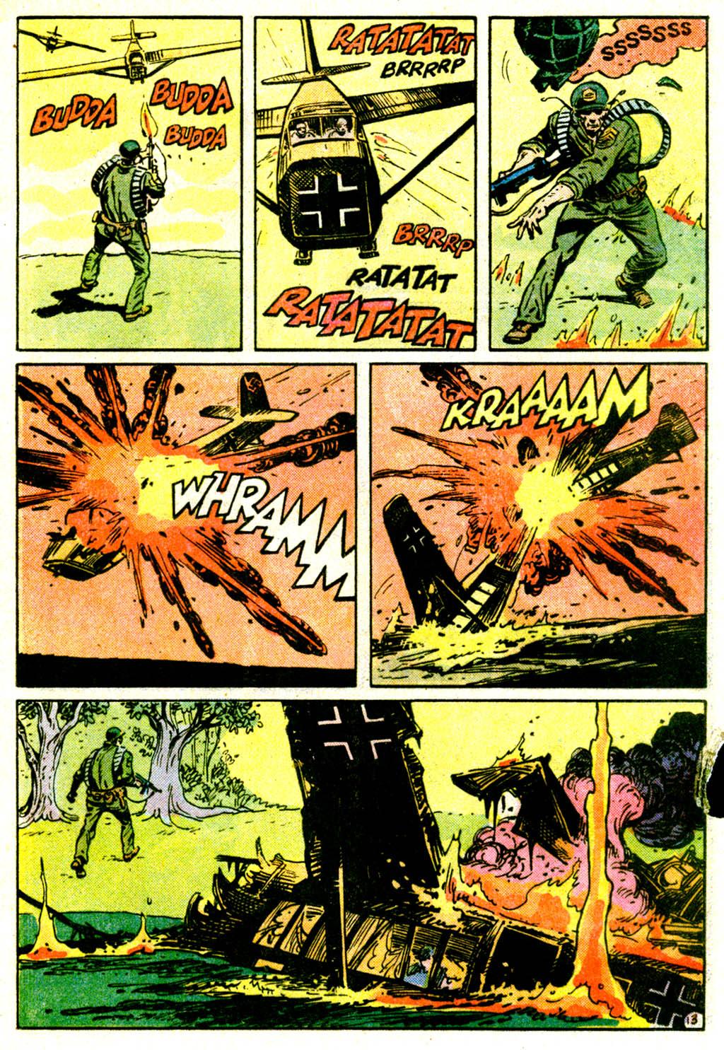 Read online Sgt. Rock comic -  Issue #362 - 16