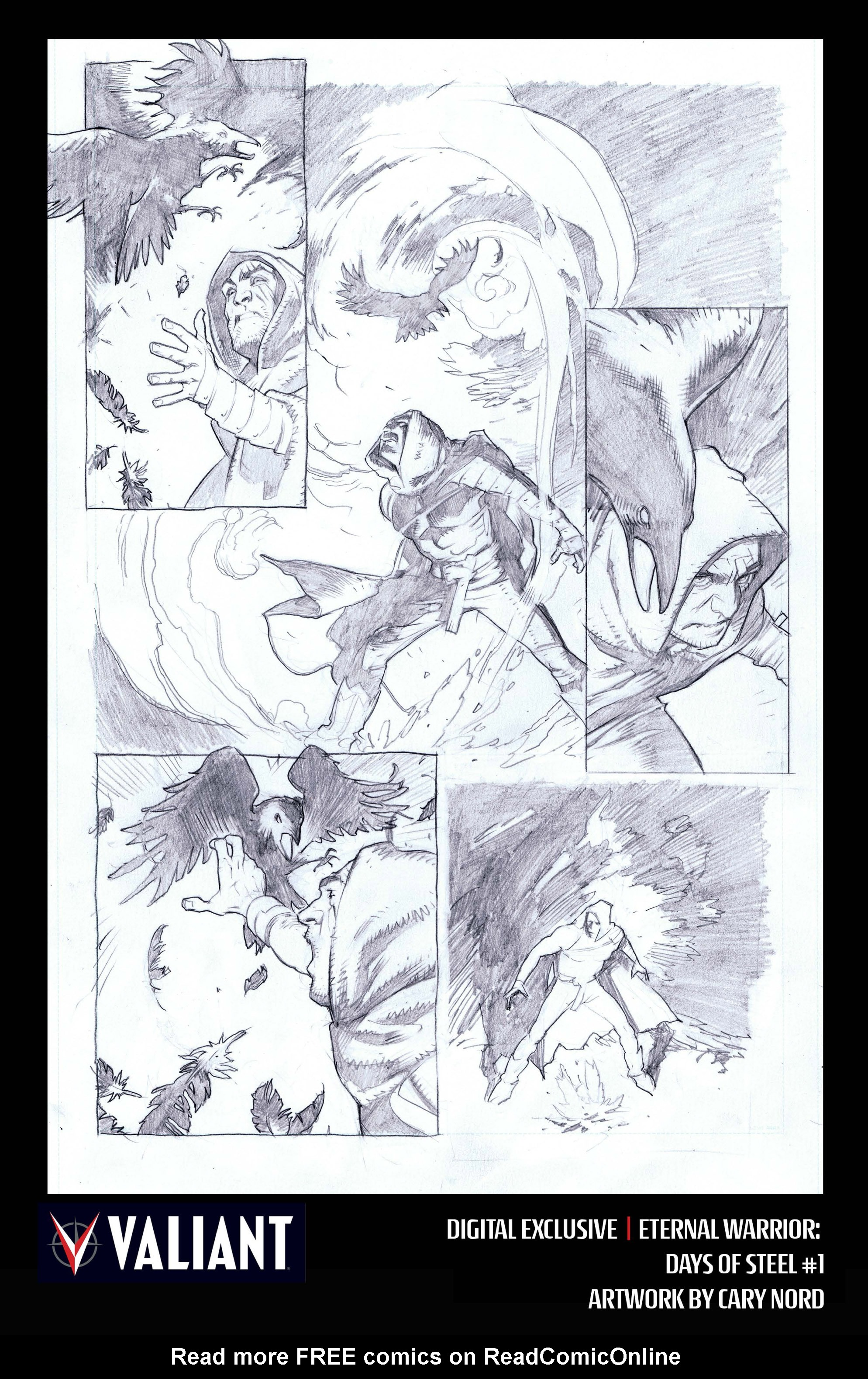 Read online Eternal Warrior: Days of Steel comic -  Issue #1 - 32