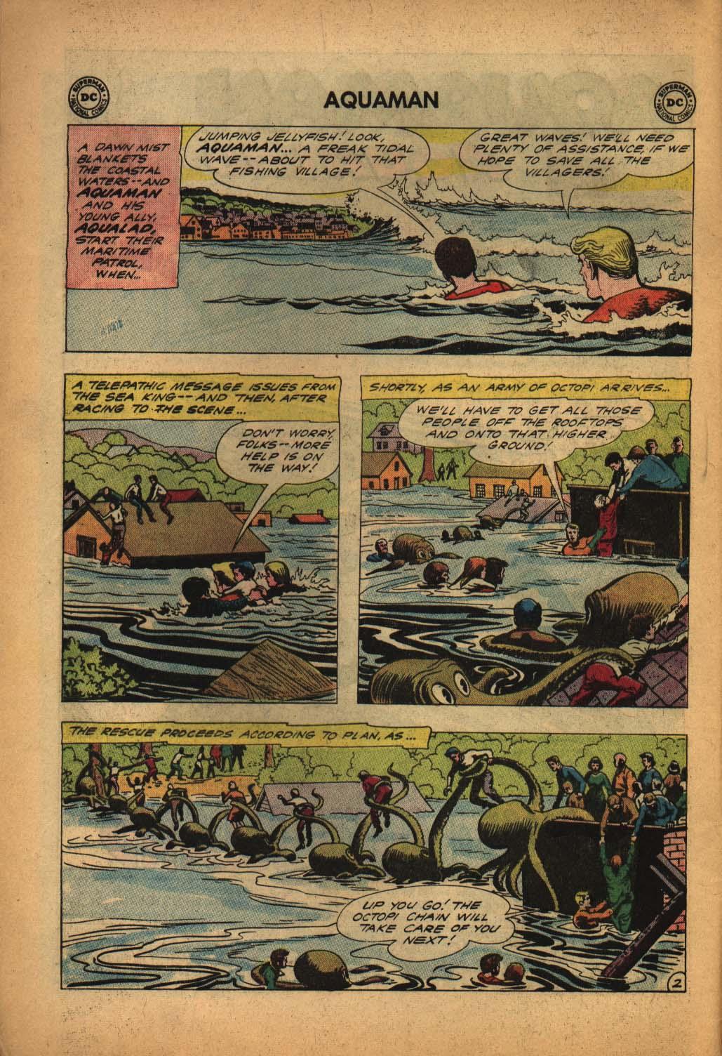 Read online Aquaman (1962) comic -  Issue #4 - 4